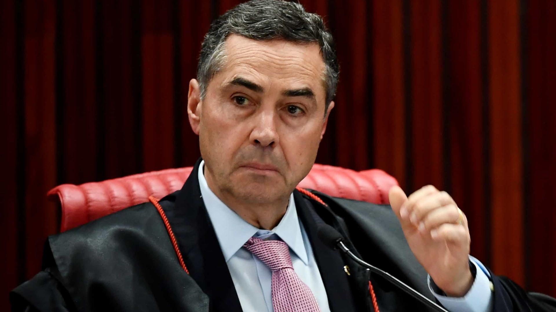 Barroso diz que sistema eletrônico é seguro: não temos preocupação