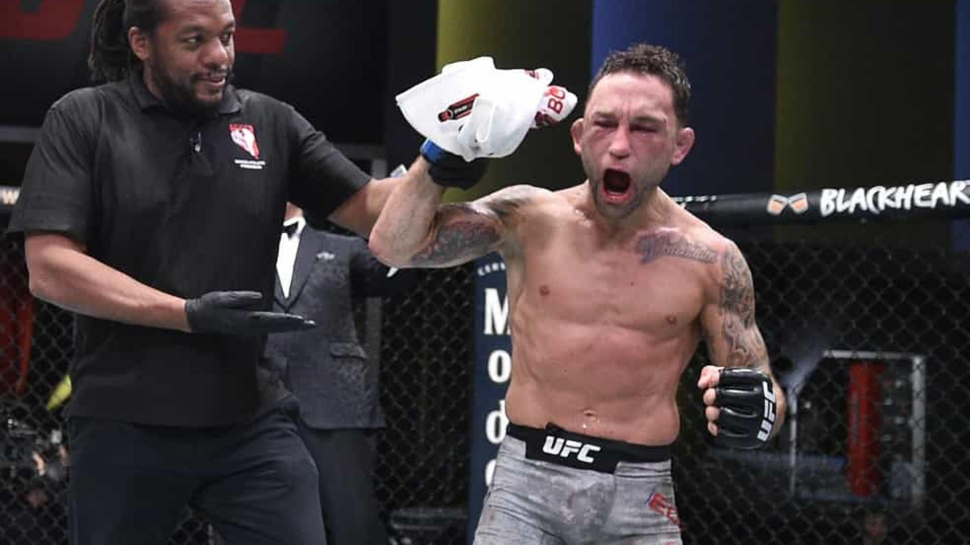 Frankie Edgar bate Pedro Munhoz em estreia nos galos dos UFC; Amanda Lemos vence