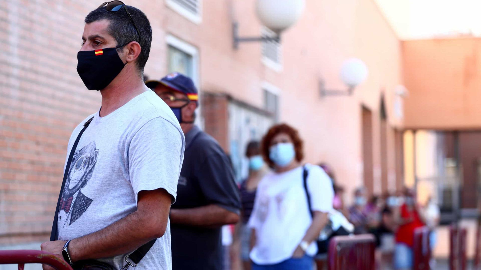 Espanha ultrapassa os 600 mil contágios e os 30 mil óbitos