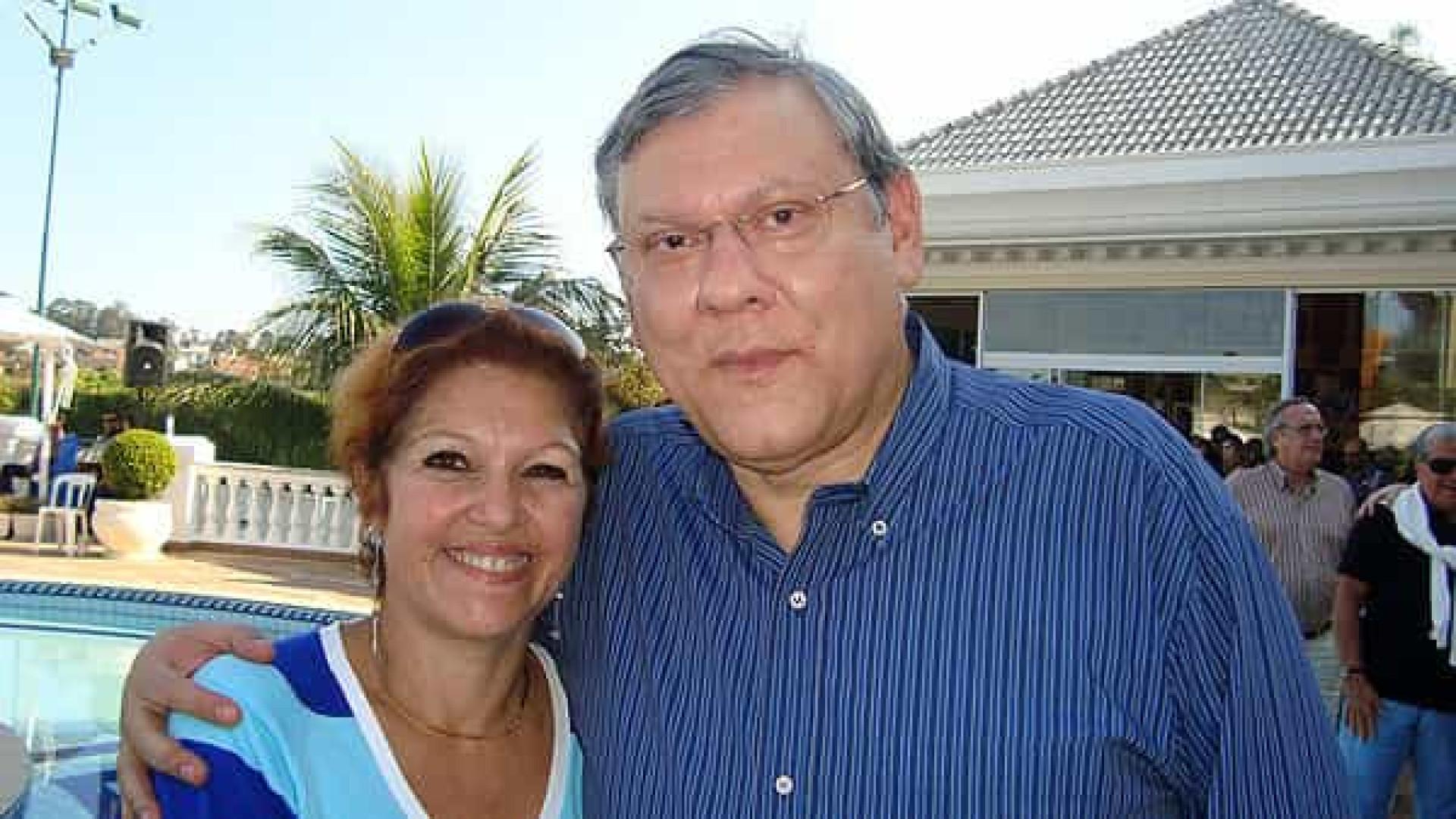 Lenice, esposa de Milton Neves há 42 anos, morre de câncer