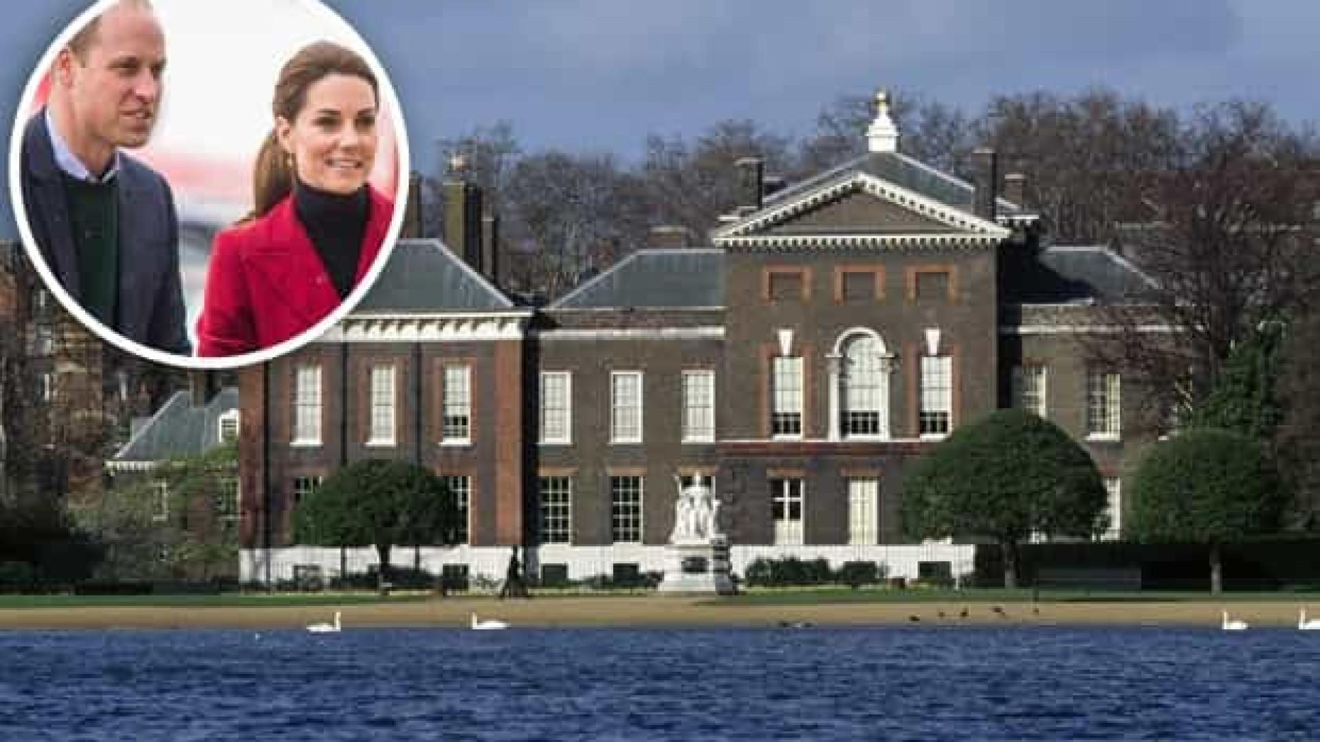 Corpo é encontrado em lago da residência do Príncipe William e Kate Middleton