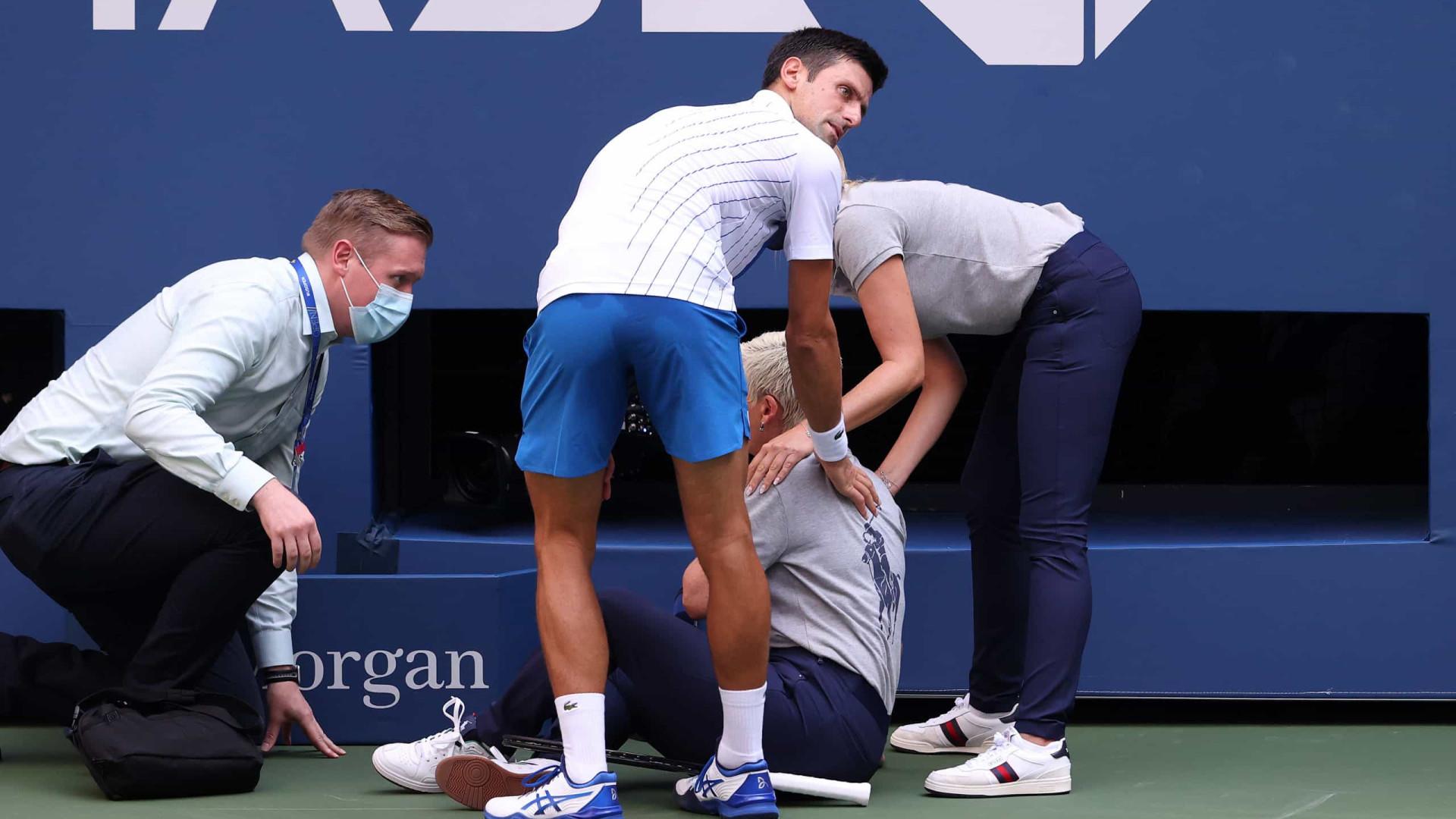 Terminou o US Open e há imagens que ficarão para a história