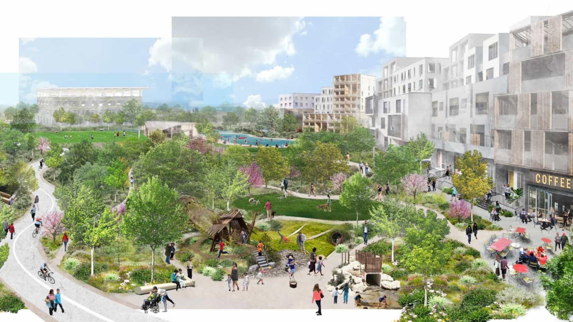 Nova sede do Google promete ser uma autêntica cidade