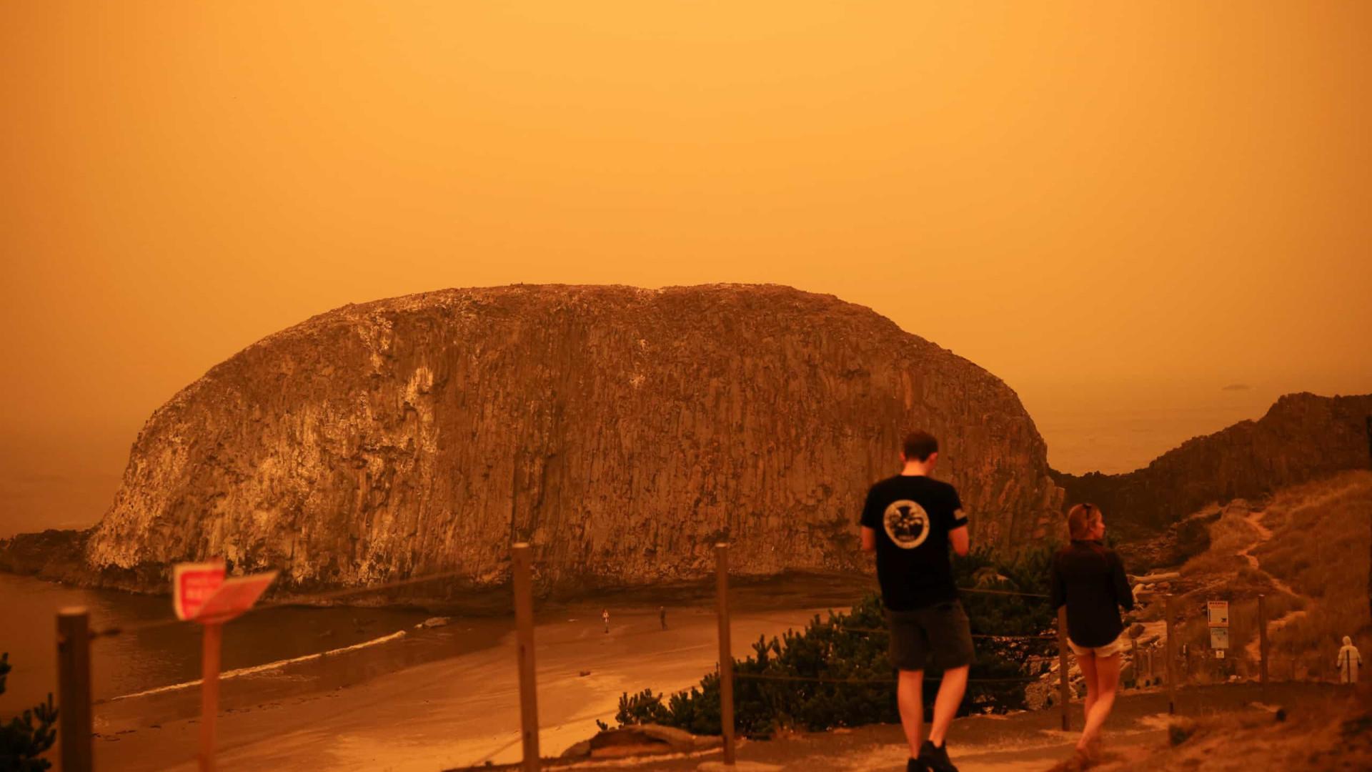 Incêndios no Oregon destroem centenas de casas