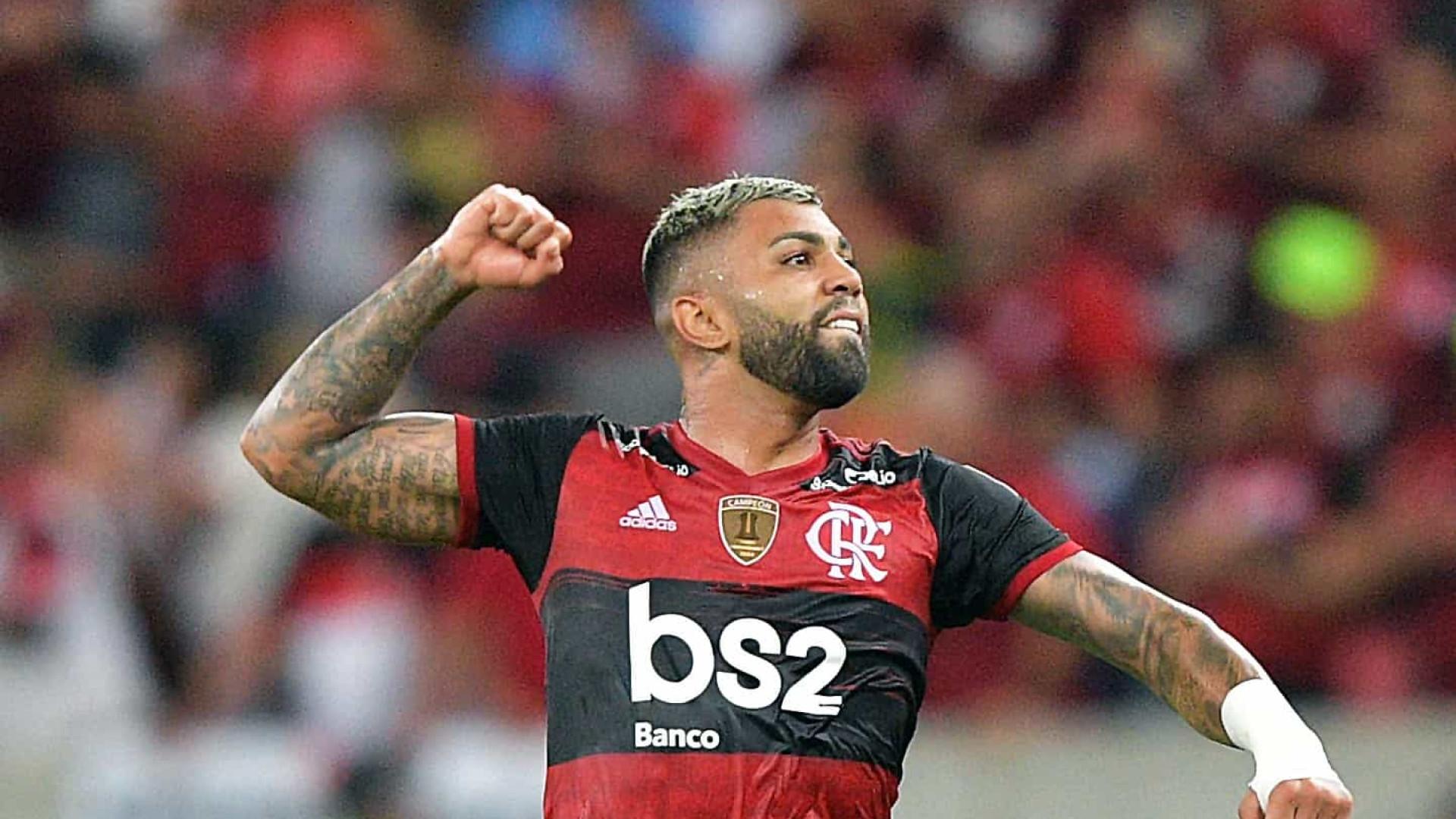Gabriel comemora feito como artilheiro do século do Flamengo: 'Marca expressiva'