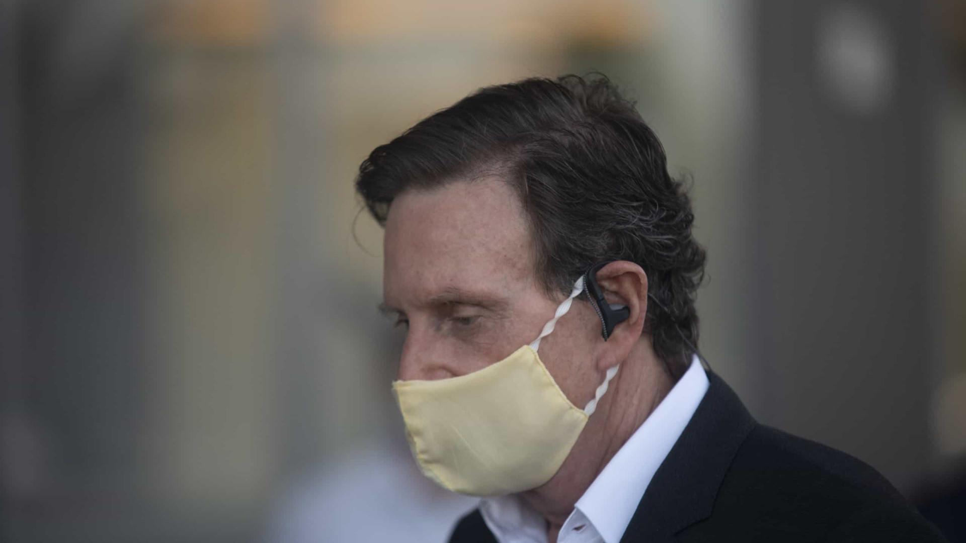 Presidente do STJ se diz impedido de revogar prisão domiciliar de Crivella