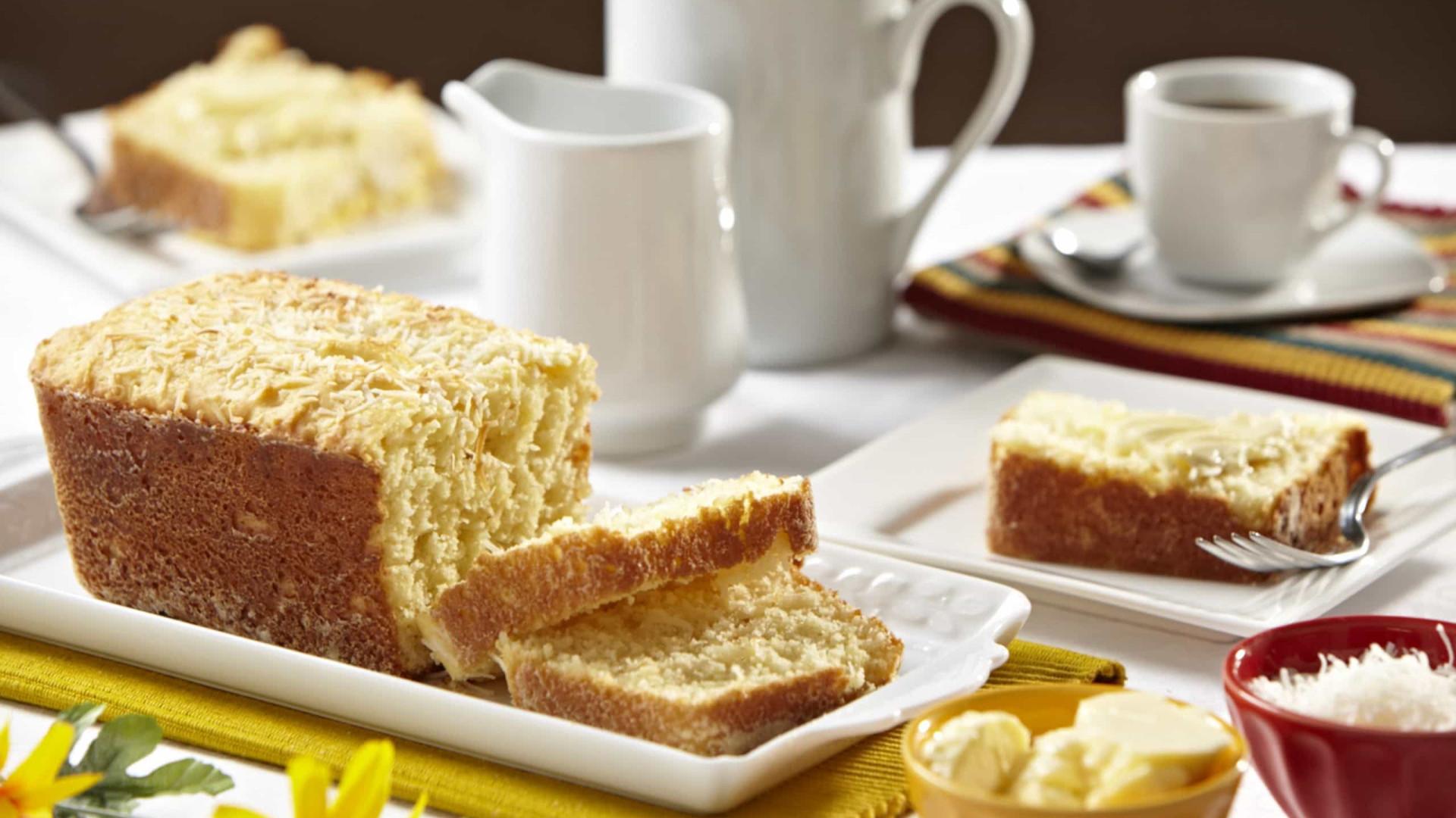 Aprenda a preparar um delicioso Pão de Coco de liquidificador
