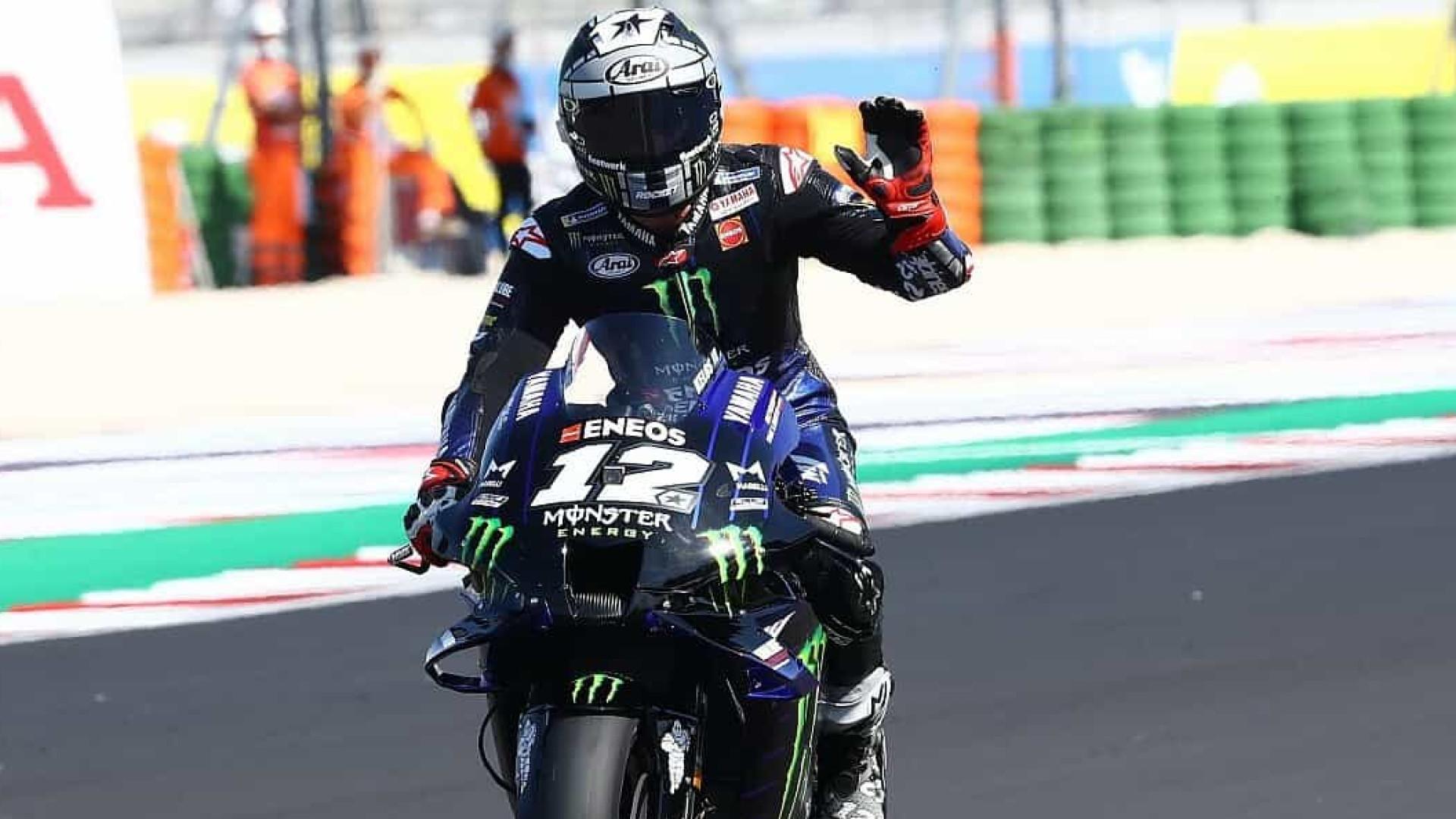 Viñales desbanca Morbidelli e conquista pole na etapa de San Marino da MotoGP
