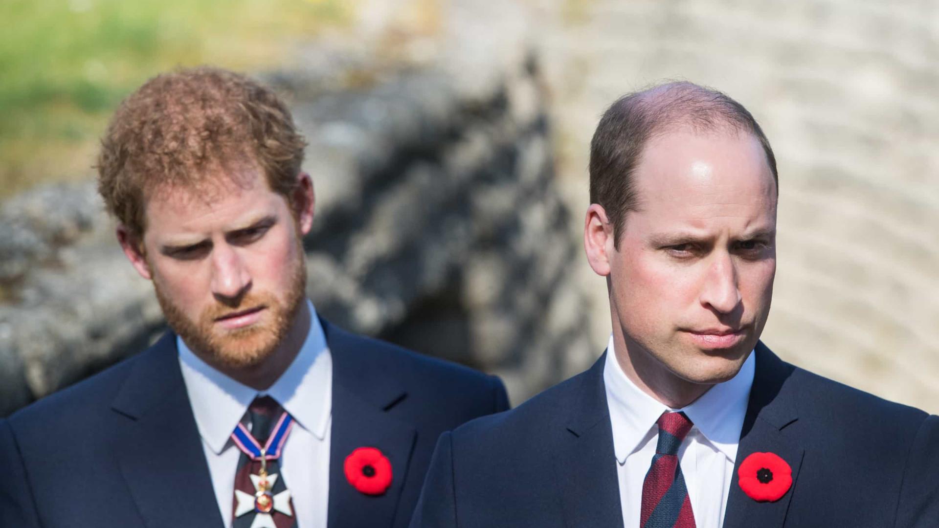 Príncipe William teme que irmão prejudique relação familiar com novas revelações