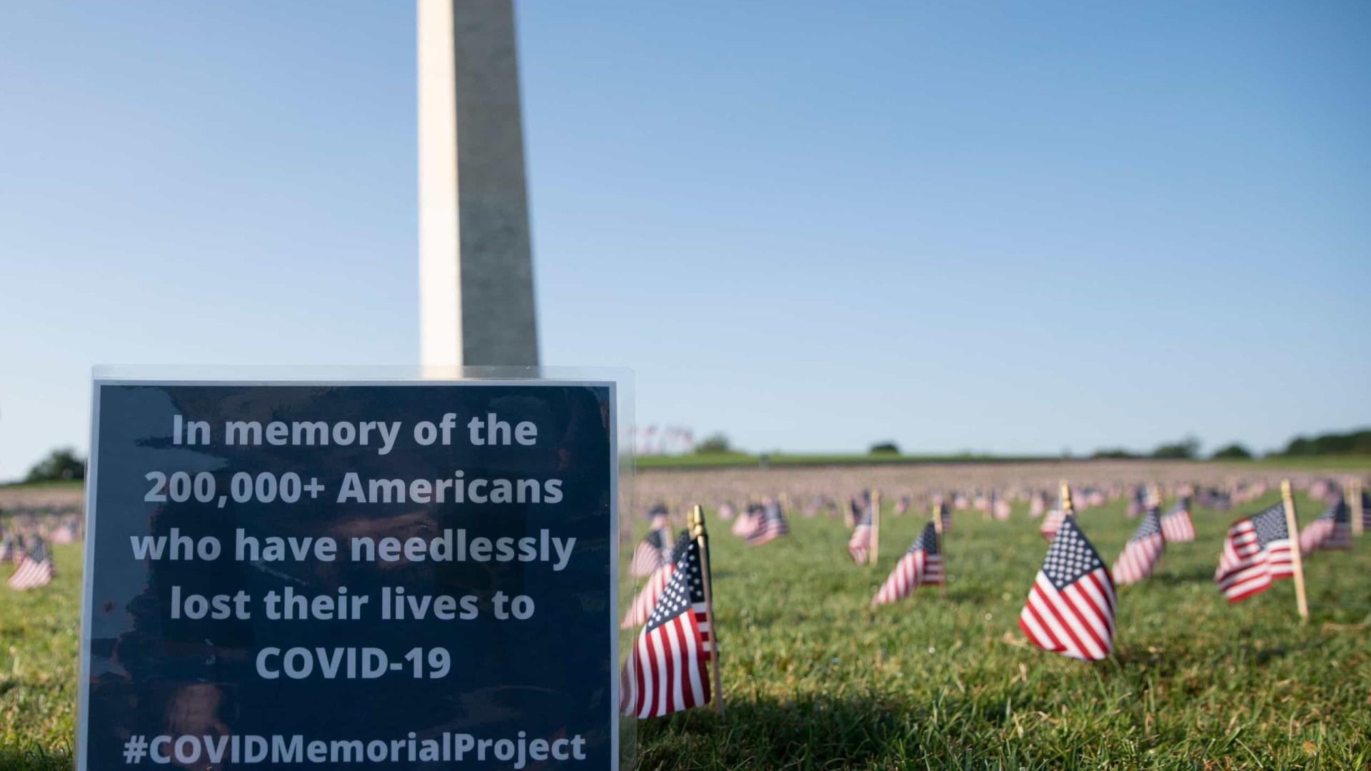 Estados Unidos ultrapassam a marca das 200 mil mortes devido à Covid-19