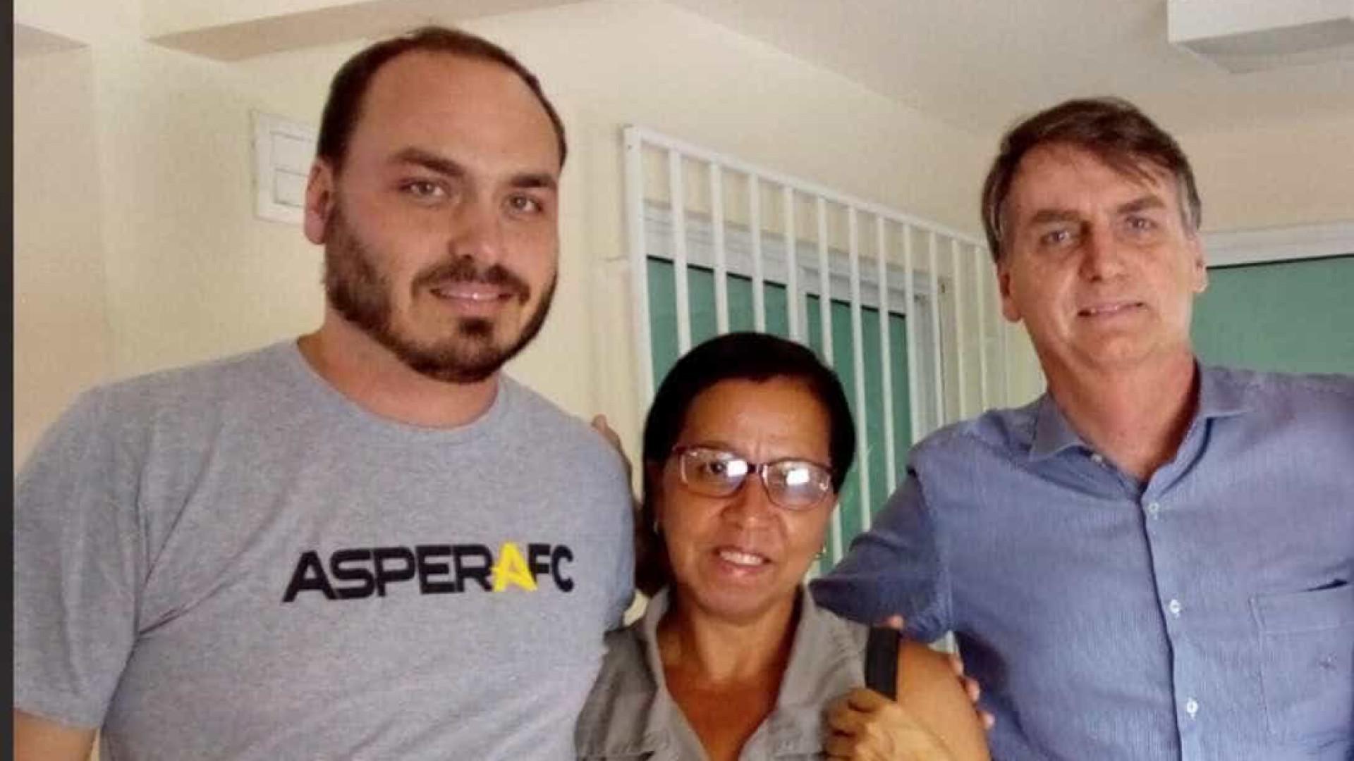 Ex-funcionária fantasma de Bolsonaro, Wal do Açaí registra candidatura com sobrenome do presidente