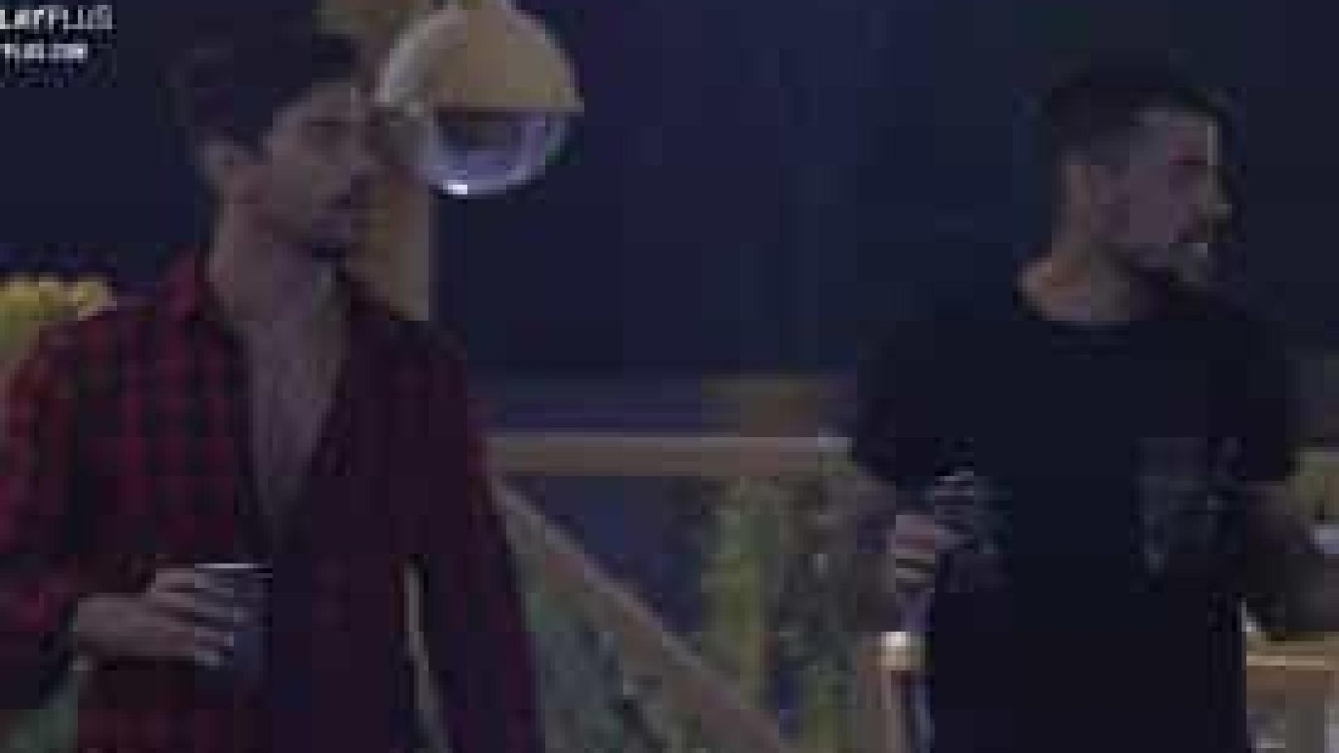 Mariano e Lipe Ribeiro tomam drinques com álcool em gel após bebida acabar
