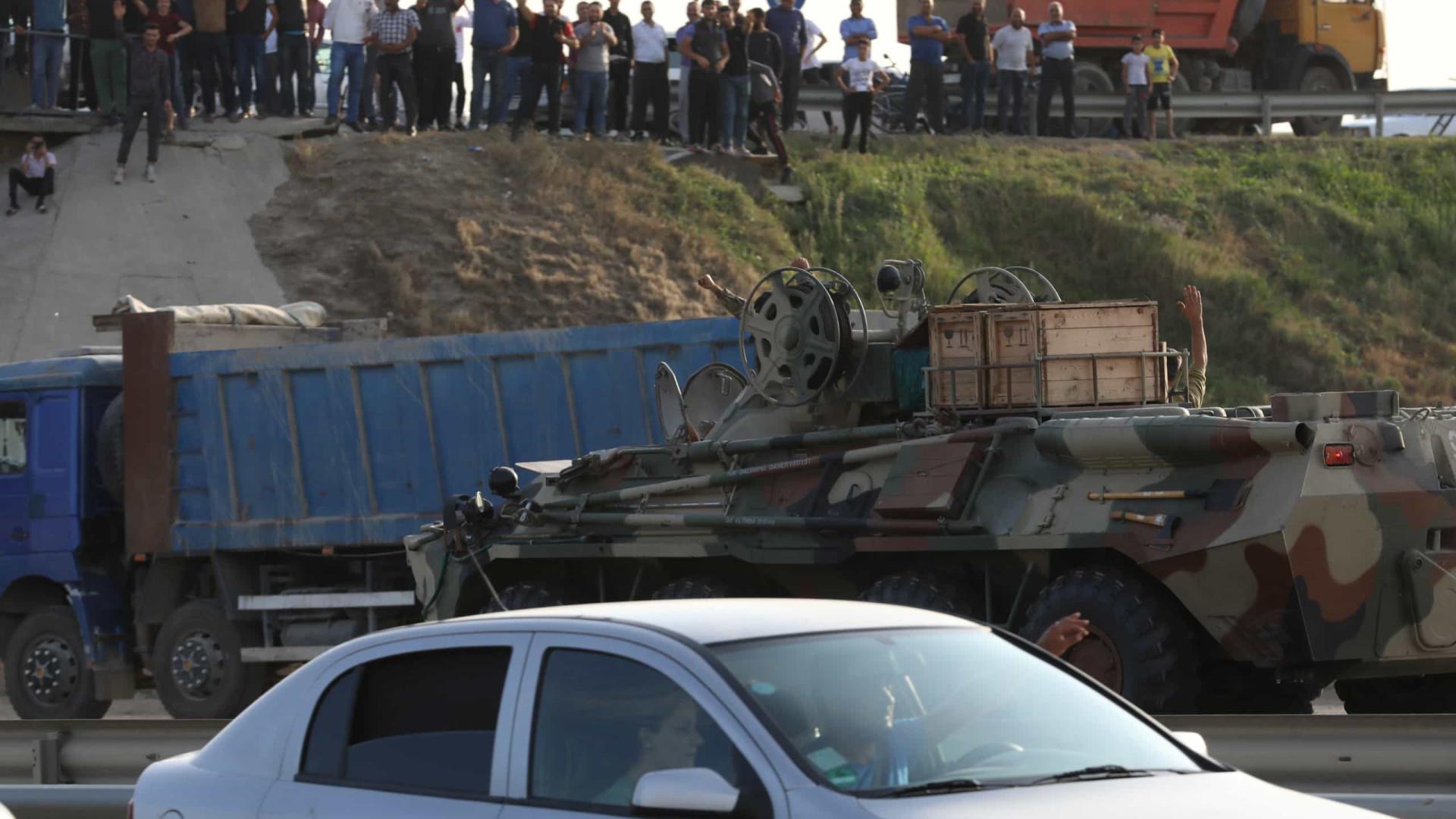 Nagorno-Karabakh: Pelo menos 39 mortos em 24 horas de combates