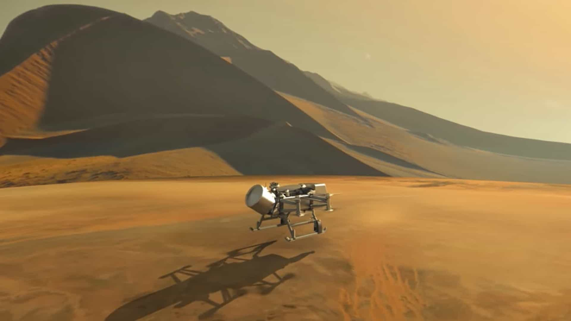 NASA adia envio de drone a lua de Saturno