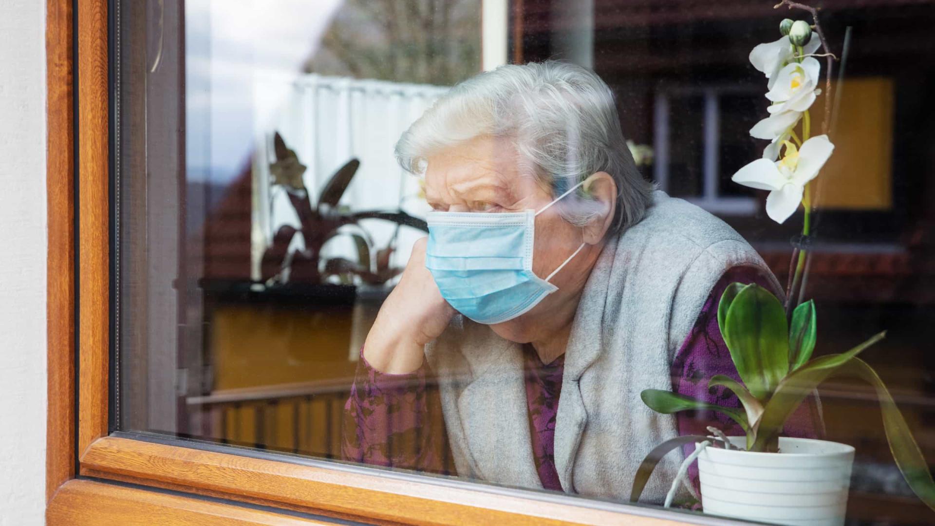 Covid chega a 24% das residências para idosos