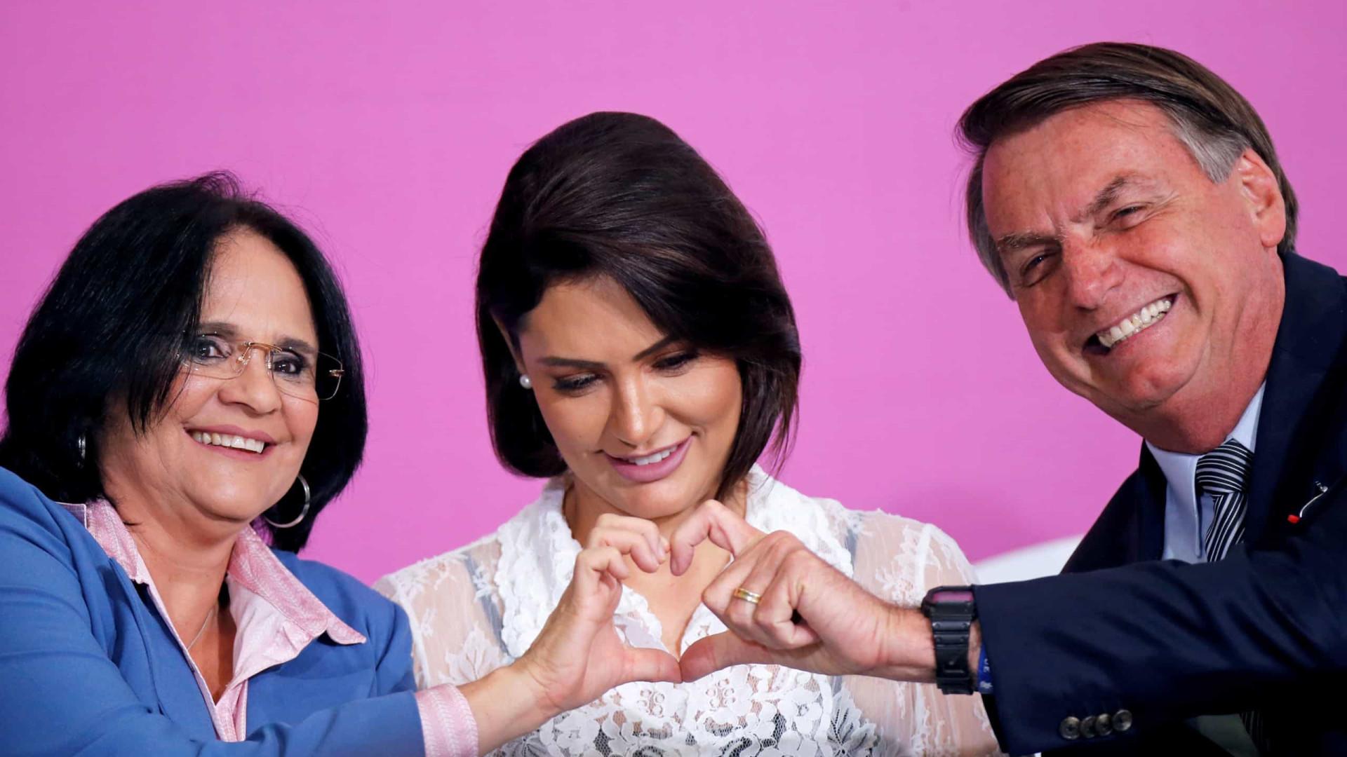 Oposição quer investigar repasse a programa de Michelle de R$ 7,5 milhões
