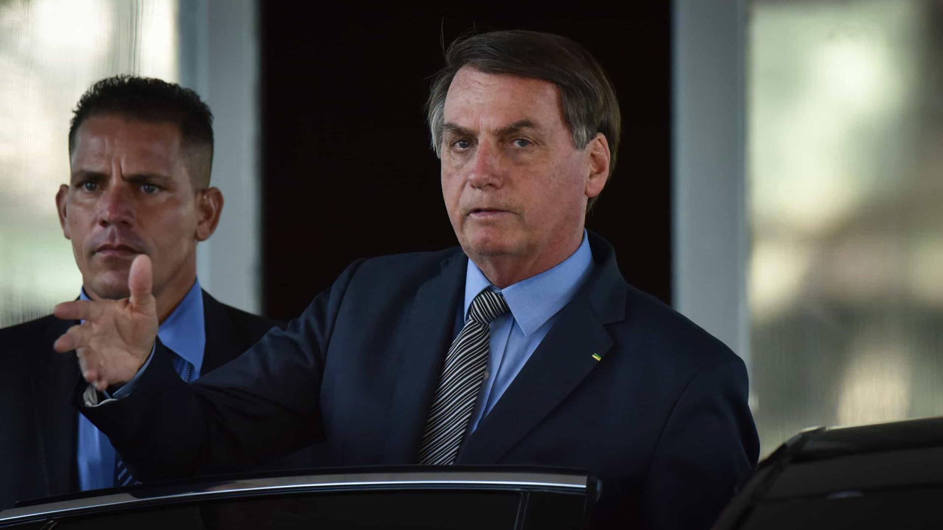 'Fofoca', diz Bolsonaro sobre especulação de que Maia pode virar ministro