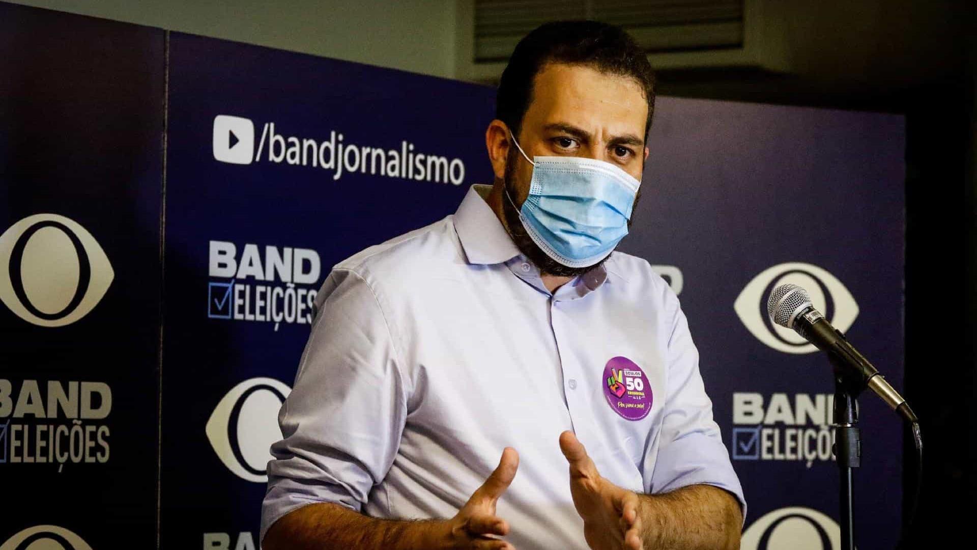 Sem votar, Boulos quer tirar São Paulo de Covas em pleito com vices no foco