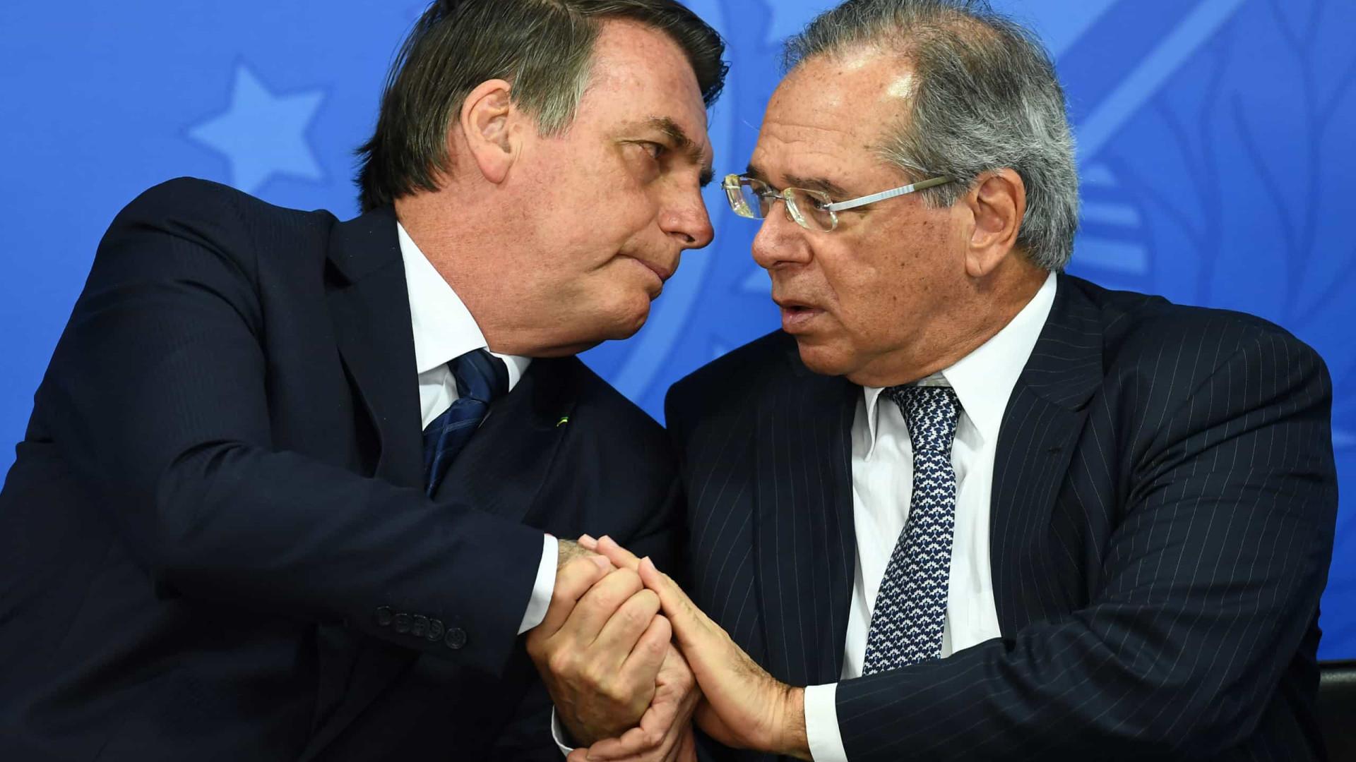 Bolsonaro: Guedes é o cara da política econômica e tem a palavra final