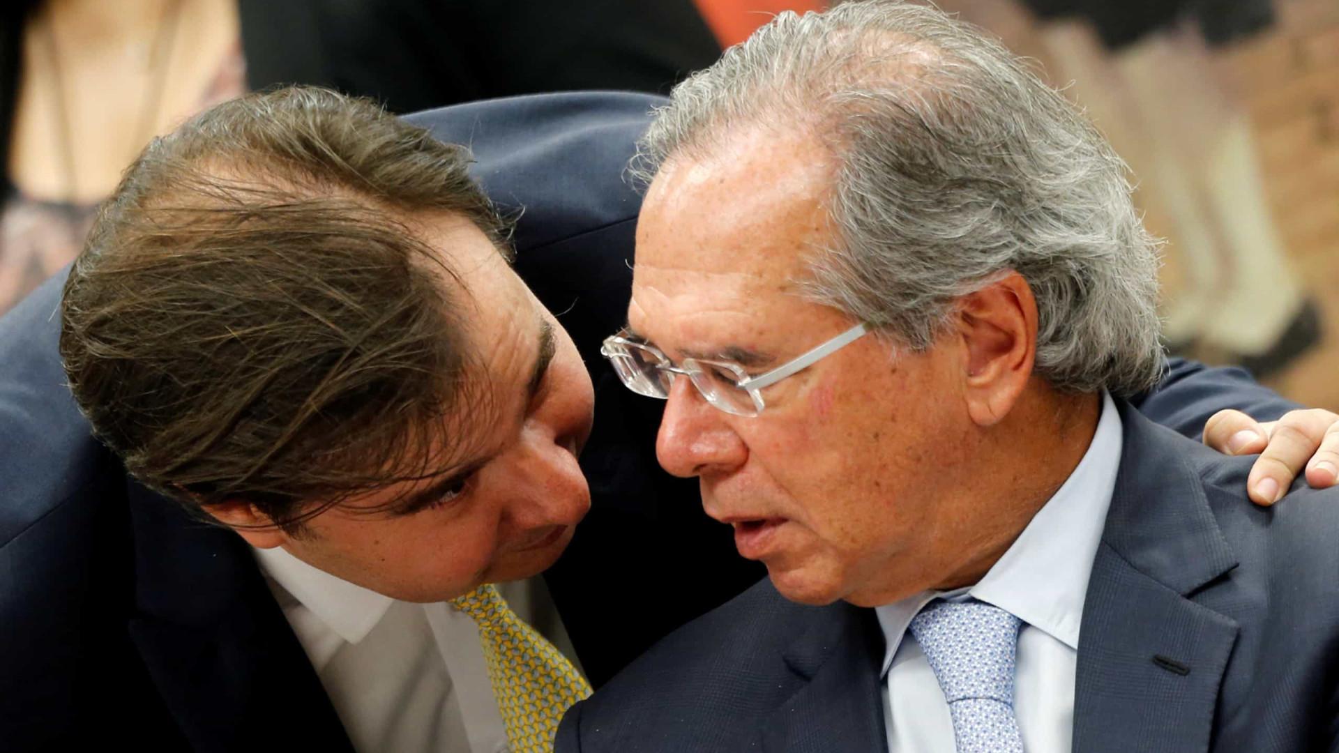 Após embate entre Guedes e Maia, Bolsonaro minimiza desentendimentos entre Executivo e Legislativo