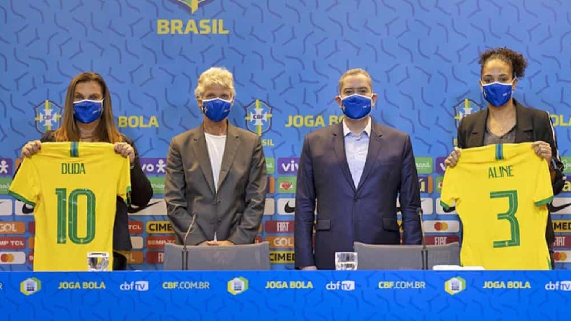Com apoio da CBF, mulheres assumem o comando do futebol feminino no Brasil