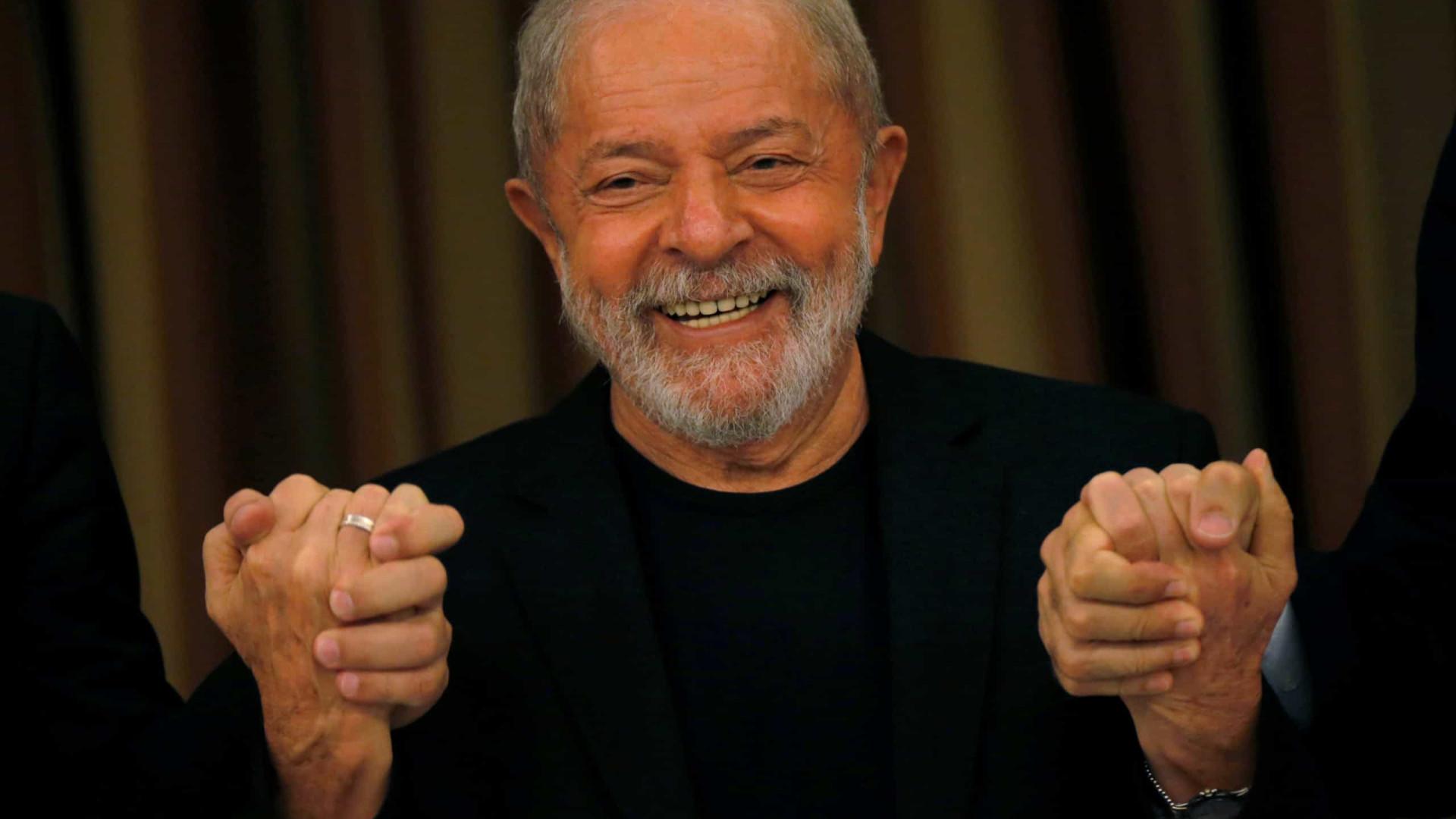 """Lula diz que não guarda """"rancor"""" mas tem """"sede de justiça"""""""