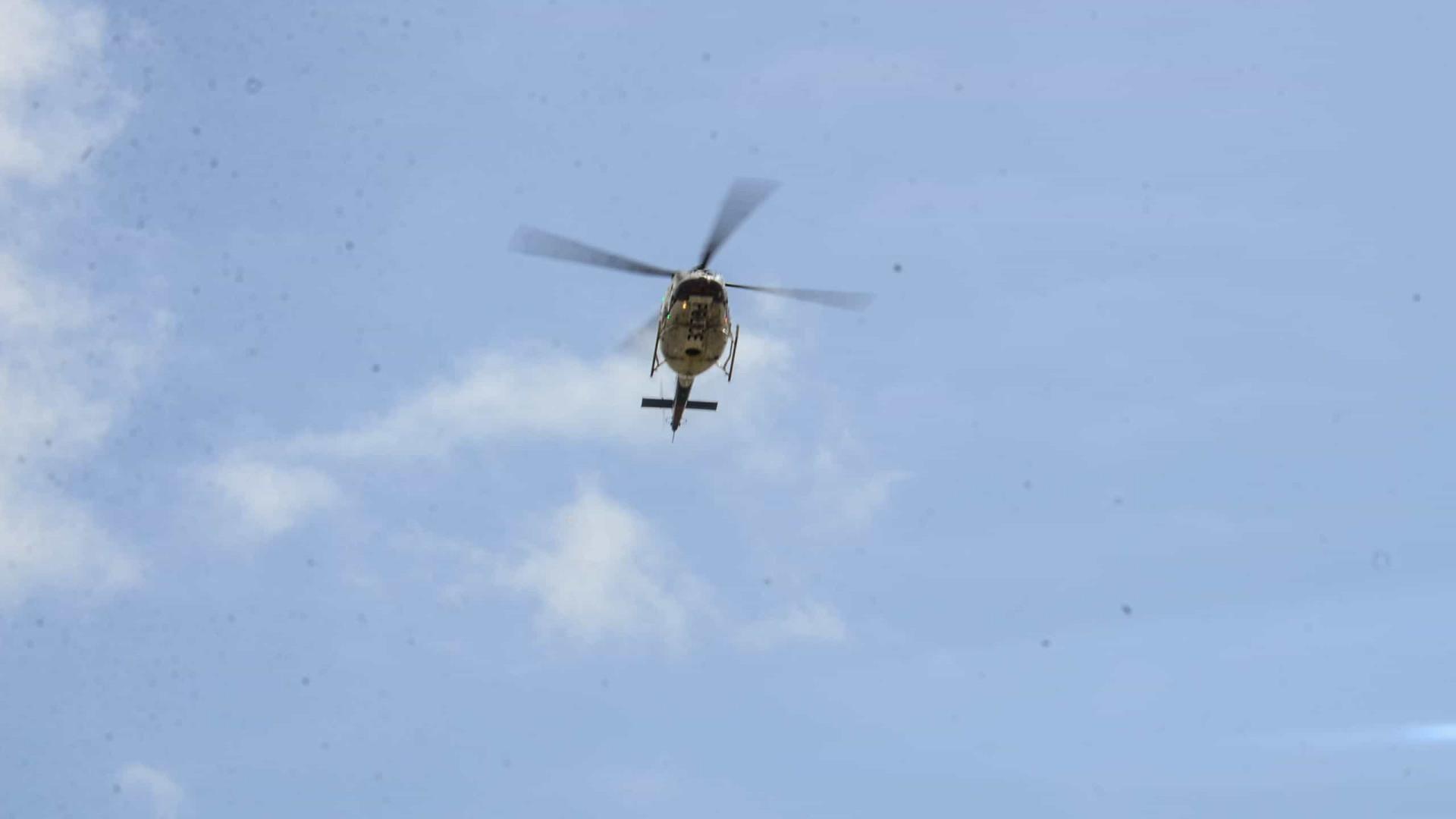 Tiros atingem helicóptero em que viajava líder da Colômbia