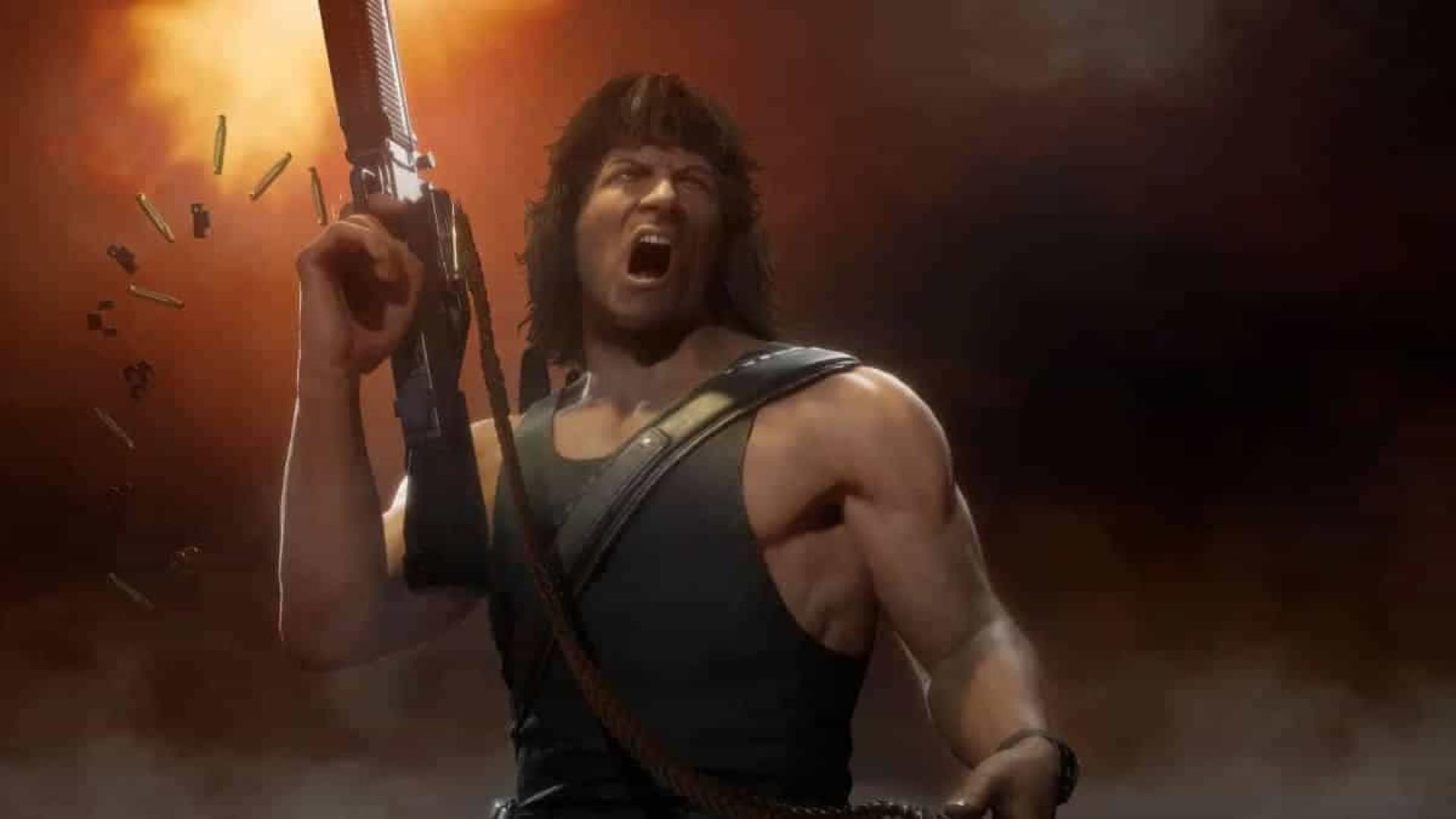 Rambo é o novo personagem do jogo 'Mortal Kombat 11: Ultimate'