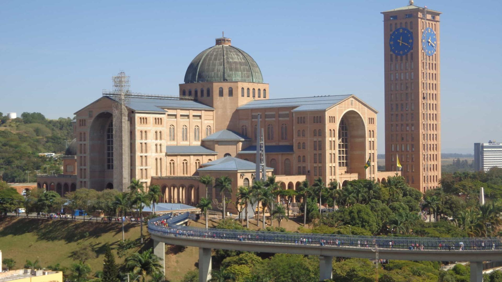 Celebrações na Basílica de Aparecida vão ser realizadas sem devotos