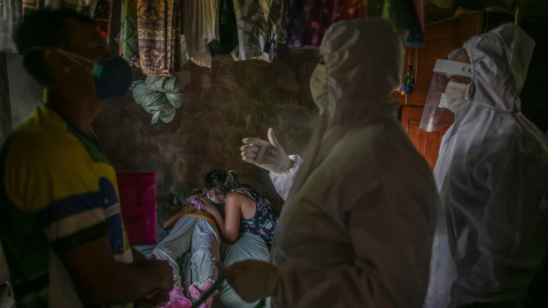Coronavírus devasta famílias e multiplica luto de parentes