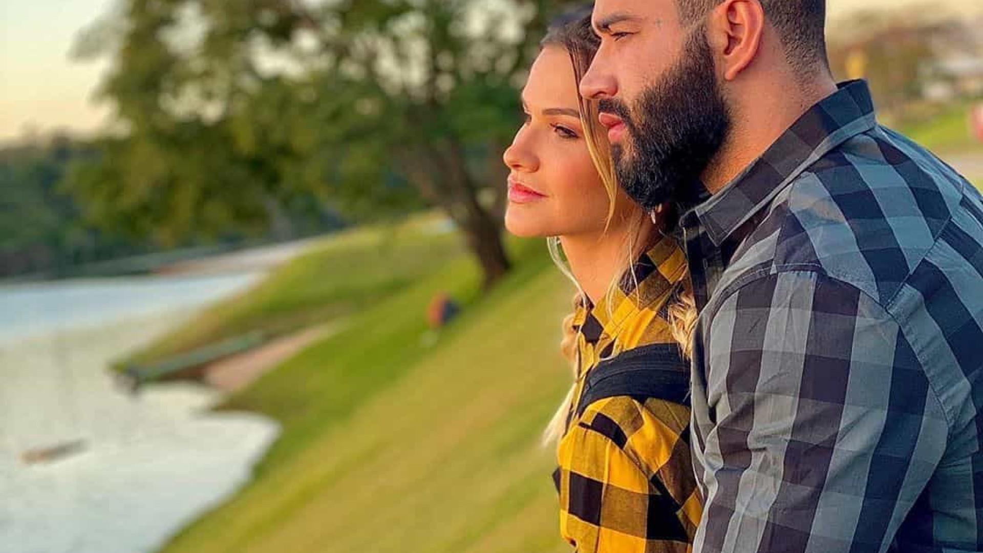 Gusttavo Lima e Andressa Suita viajam juntos para tentarem reconciliação