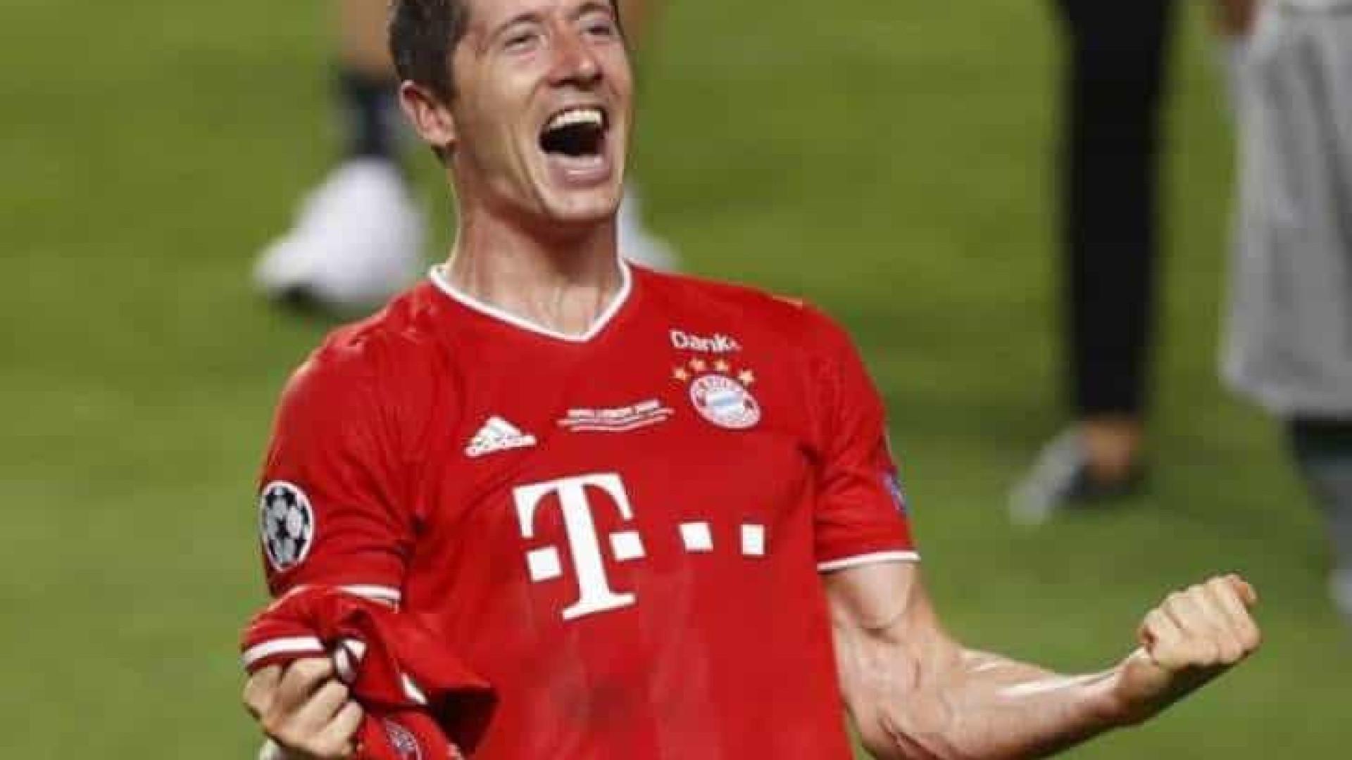Bayern goleia Arminia, Lewandowski faz 2 e tem gol contra todos times do Alemão