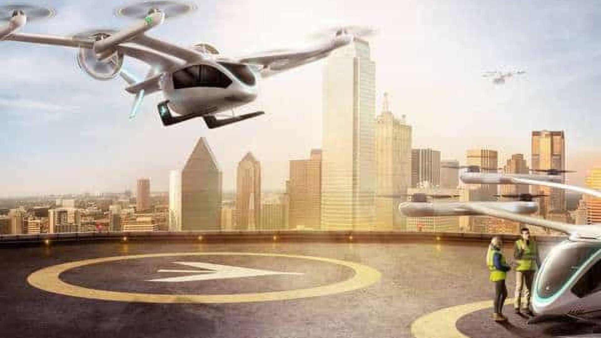 """Embraer cria startup para desenvolvimento de """"carro voador"""""""