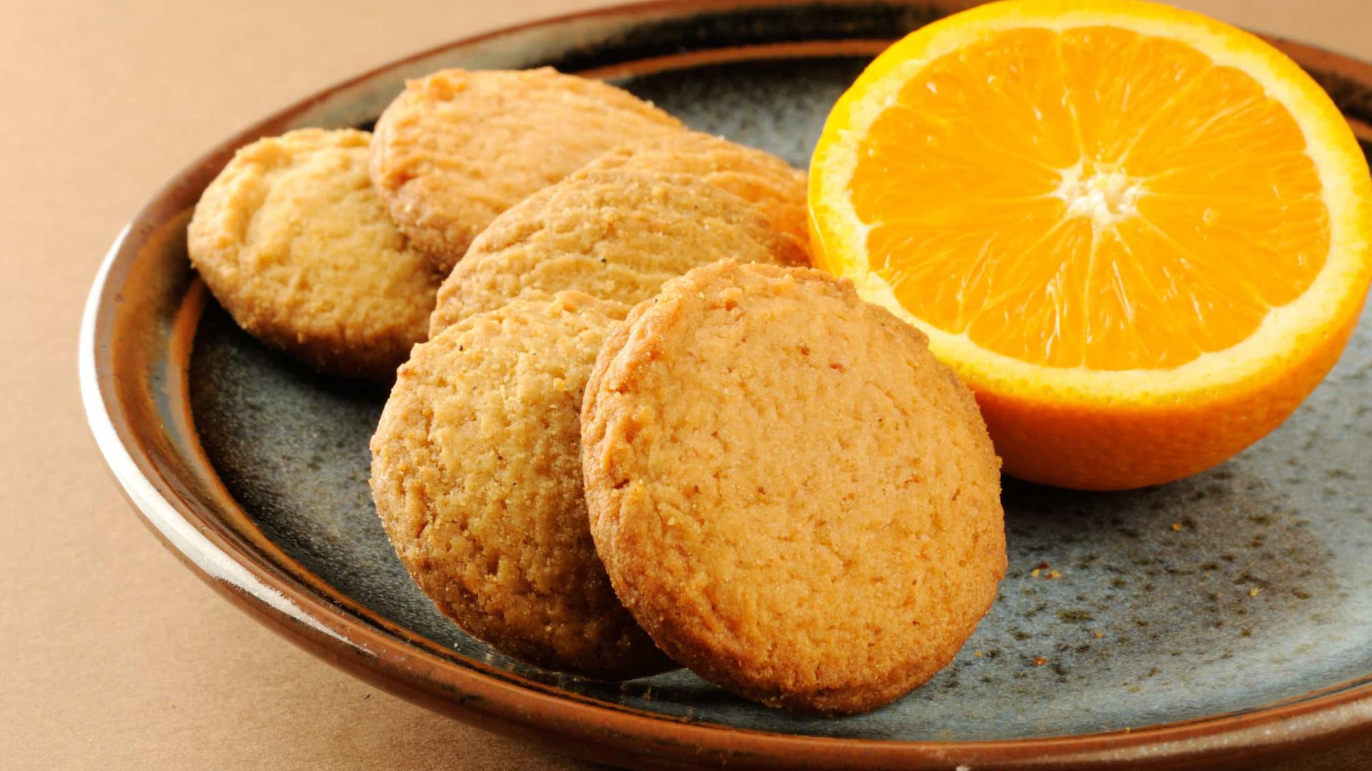Que tal bolachinhas deliciosas de laranja?