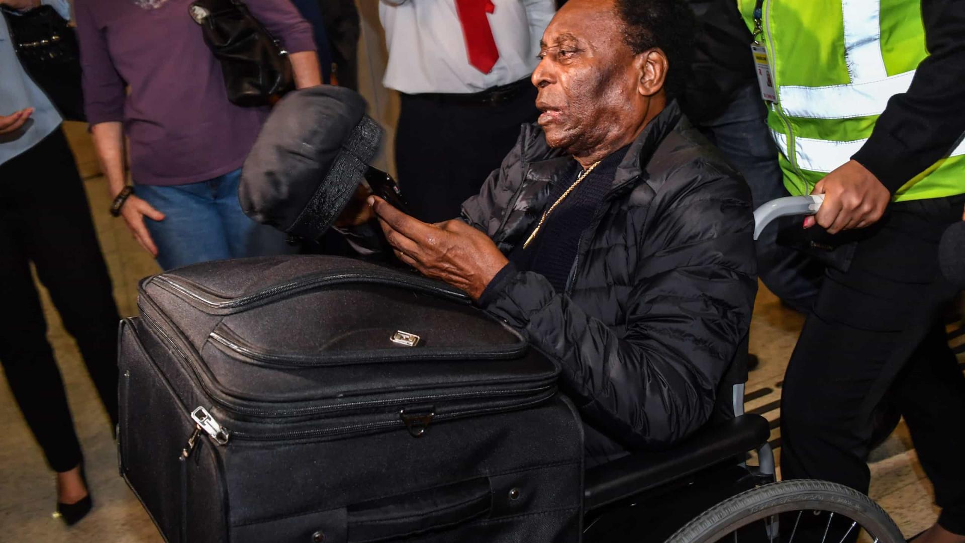 Eterno garoto-propaganda, Pelé não cogita parar aos 80 e quer ir ao Qatar