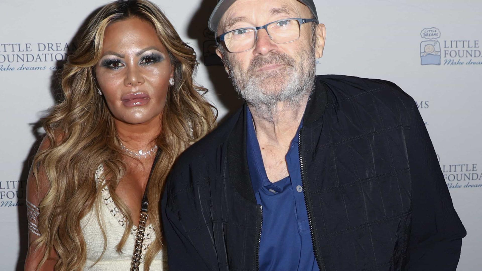 Ex-mulher de Phil Collins contrata seguranças para não deixar músico entrar em mansão