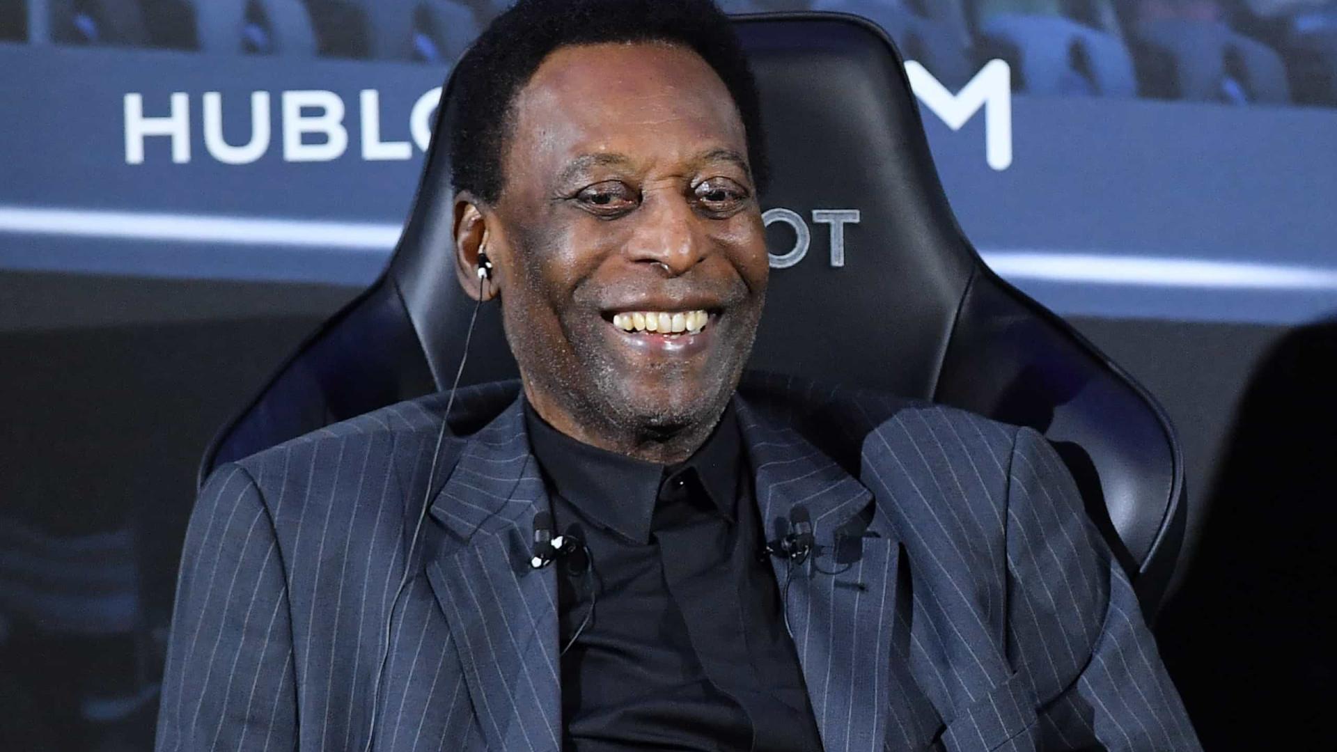 Pelé agradece mensagens pelos seus 80 anos: 'Estou mais feliz do que nunca'