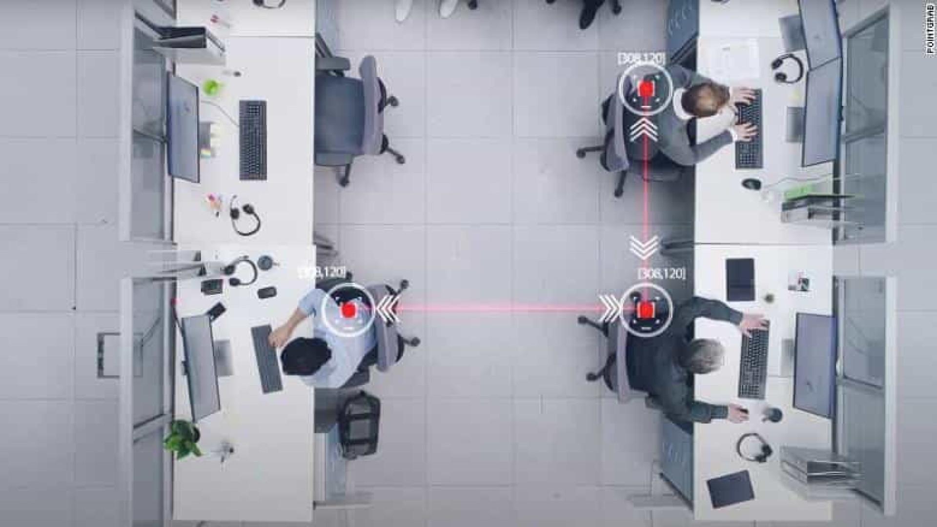 Covid-19. Desenvolvido sensor que pode facilitar volta aos escritórios
