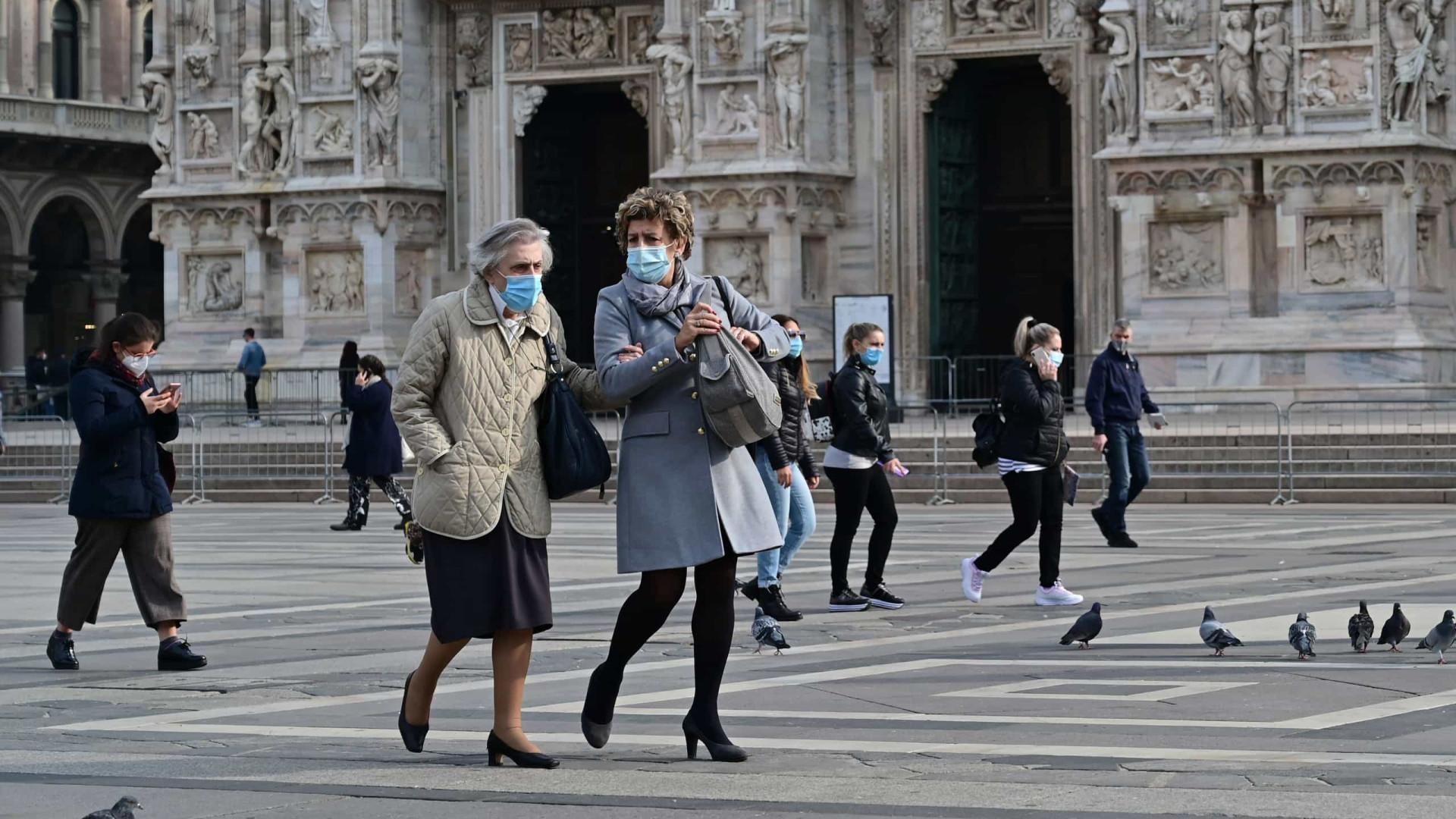 Itália registra mais de 19 mil casos e 91 mortes em 24 horas