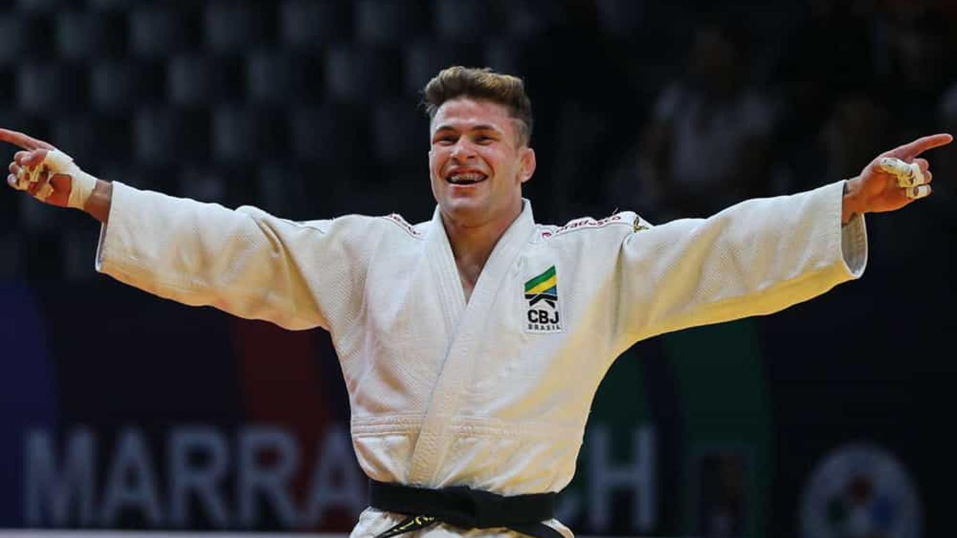 Brasil estreia com medalha no Grand Slam de Judô de Budapeste