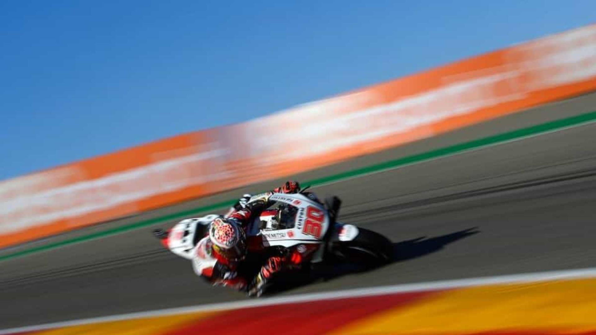 Nakagami conquista 1ª pole da carreira na MotoGP e larga em 1º na etapa de Teruel