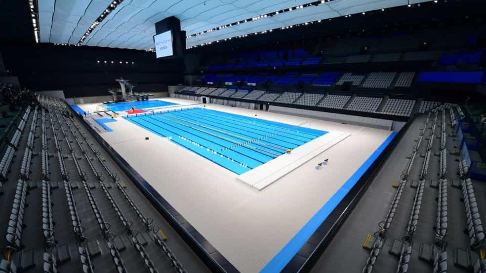 Centro Aquático é inaugurado em Tóquio para disputa dos Jogos Olímpicos em 2021