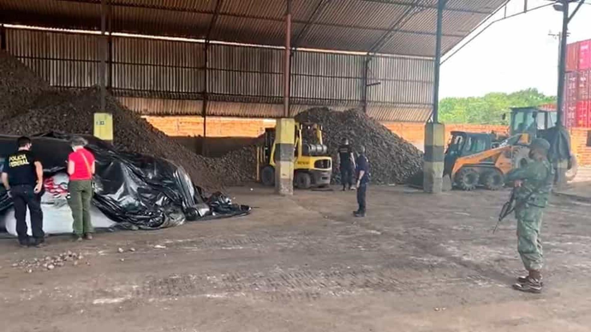 Operação apreende mais de 146 mil toneladas de manganês no Pará