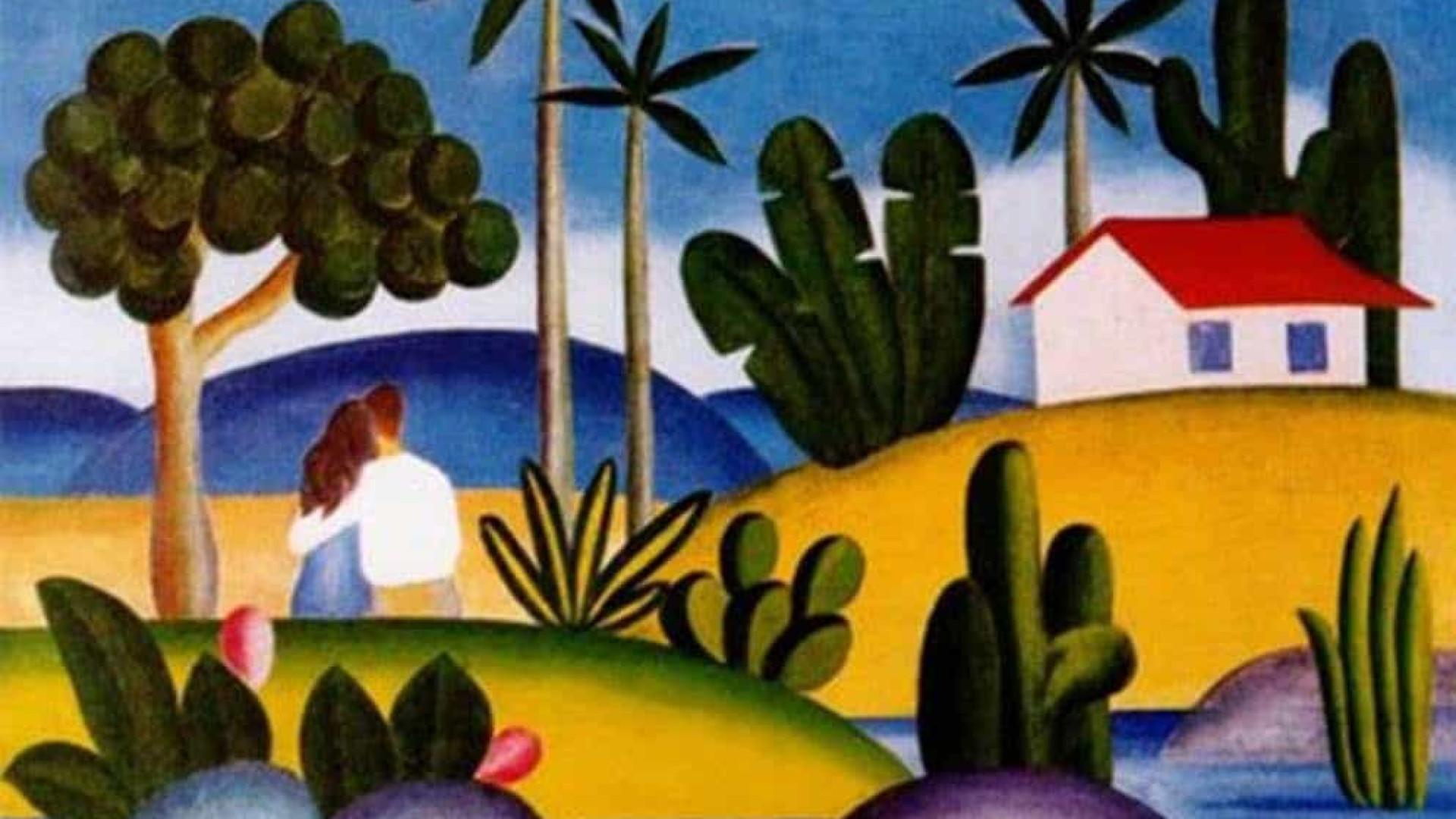 Quadro de Tarsila do Amaral estará à venda por US$ 7 milhões em feira virtual