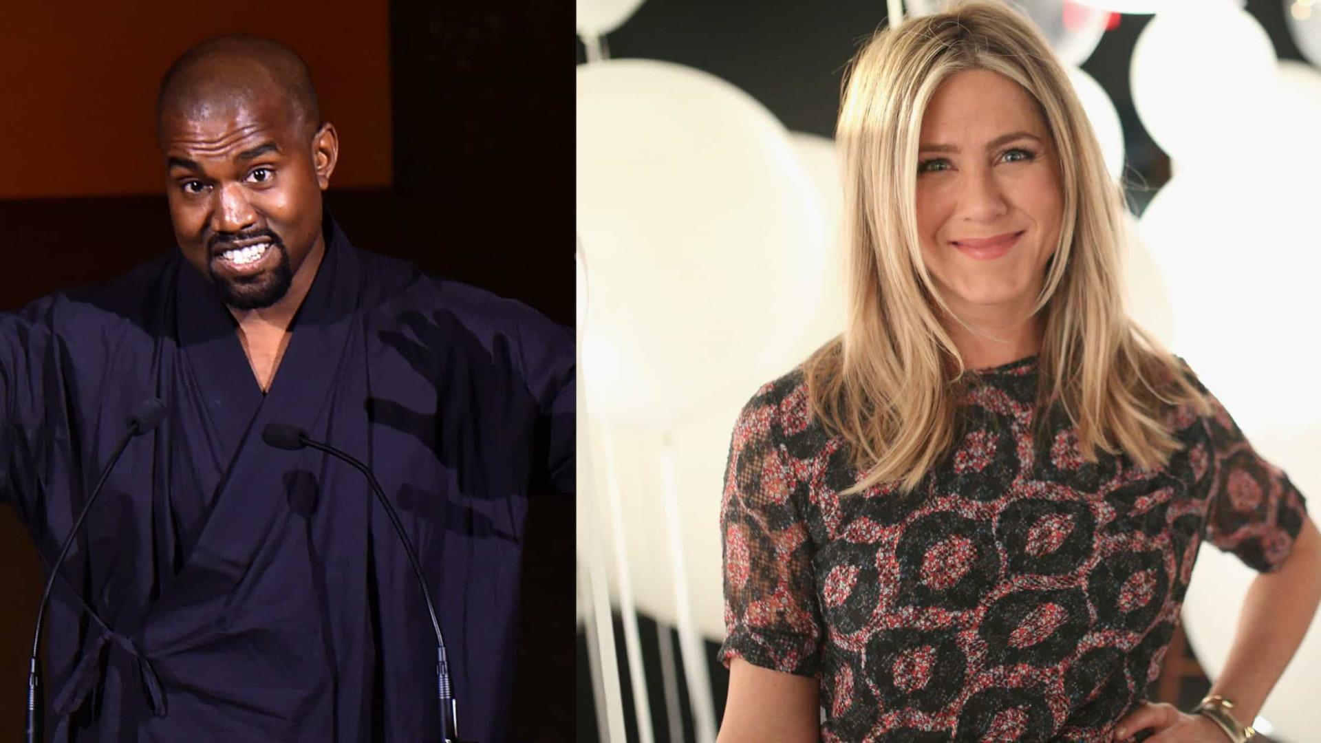 Kanye West responde a 'cutucada' de Jennifer Aniston