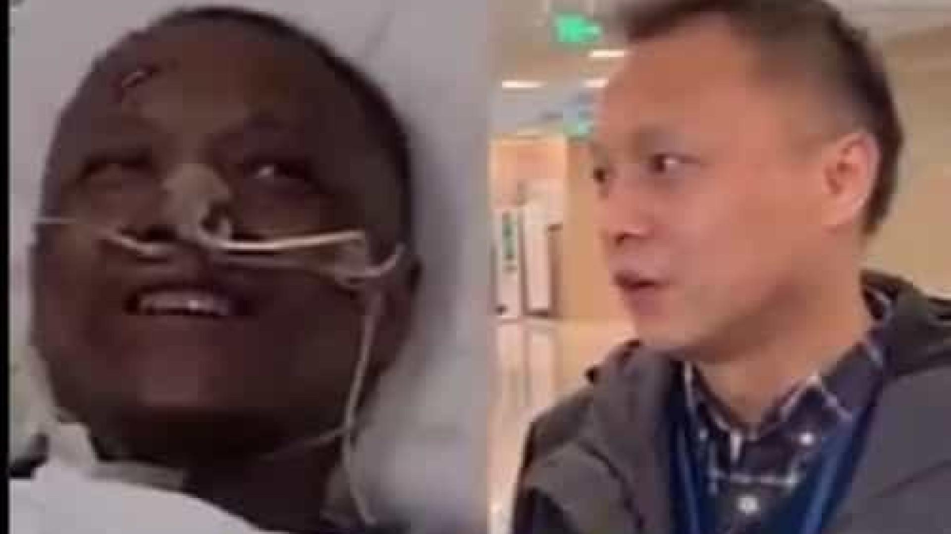 Médico chinês que mudou de cor devido à Covid-19 já recuperou tom de pele