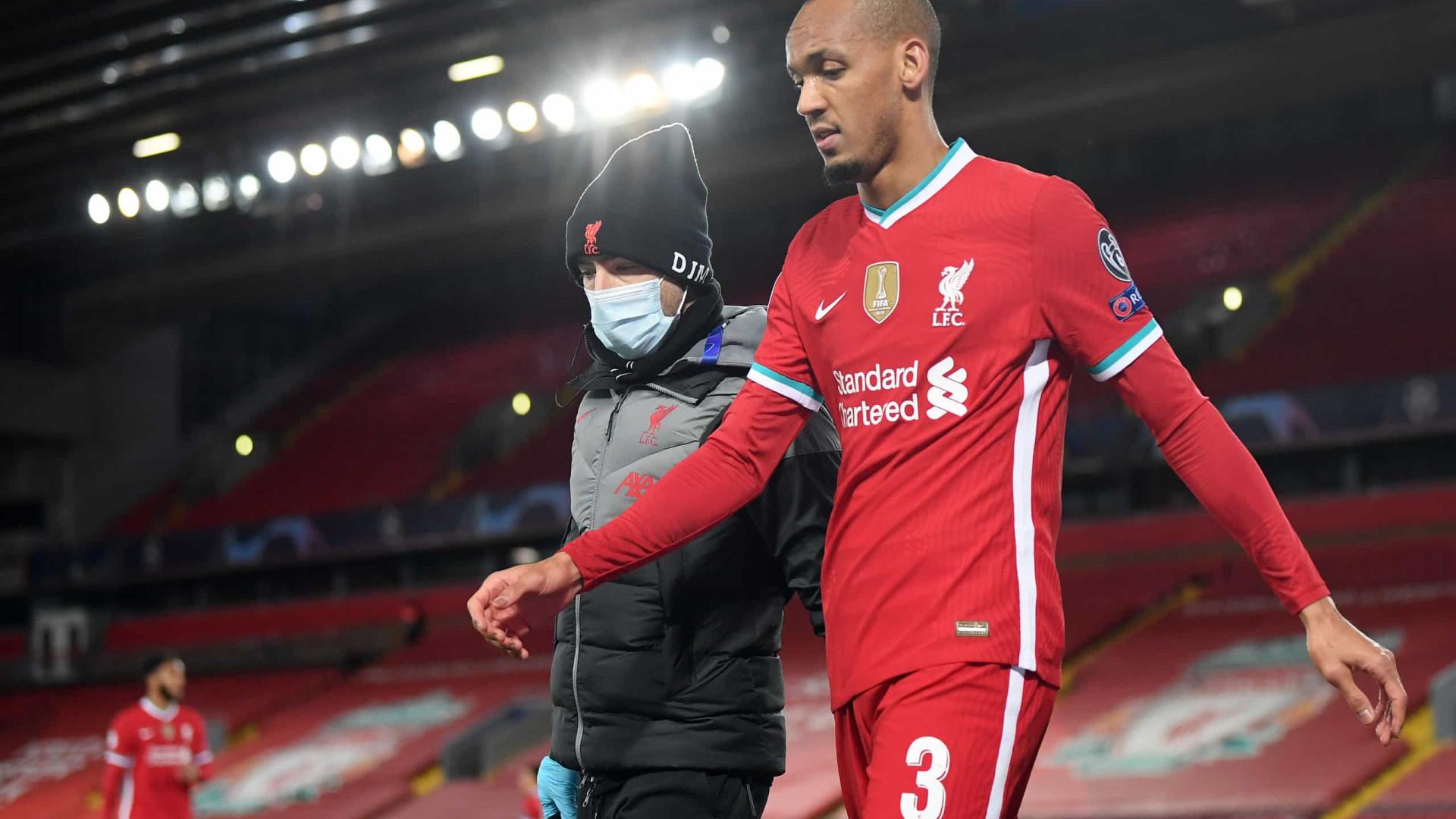 Klopp ironiza Tite após lesão de Fabinho: 'Ele nunca o coloca para jogar'