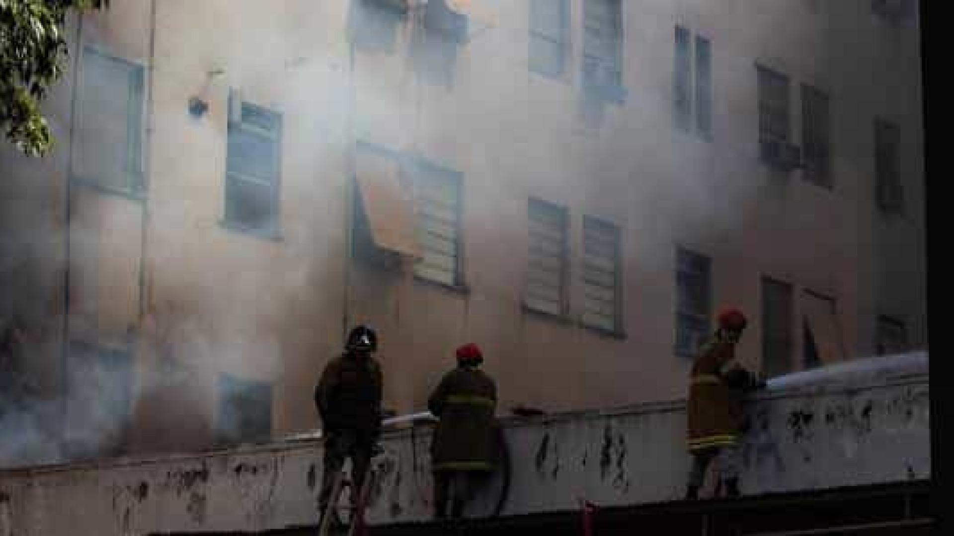 PF ouve três brigadistas sobre incêndio no Hospital de Bonsucesso