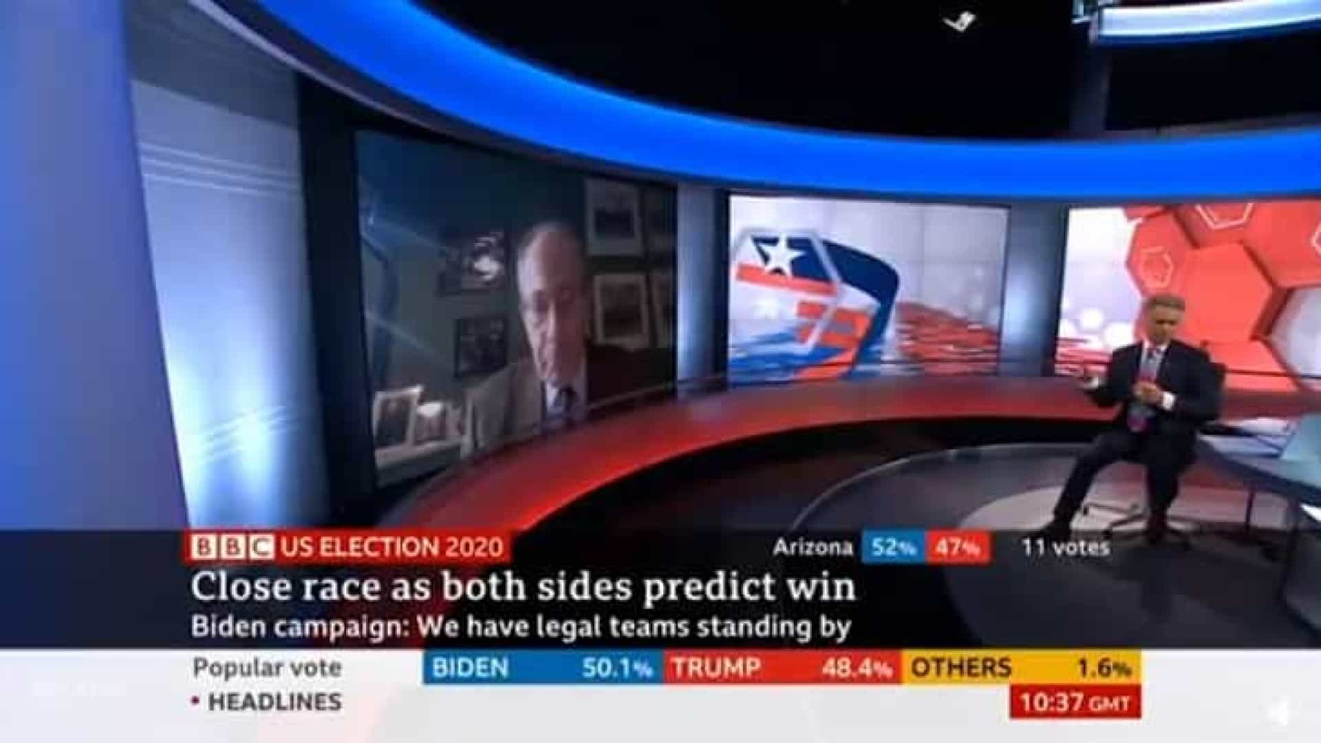 Jornalista da BBC comete gafe e diz que Thatcher compartilhou tweet