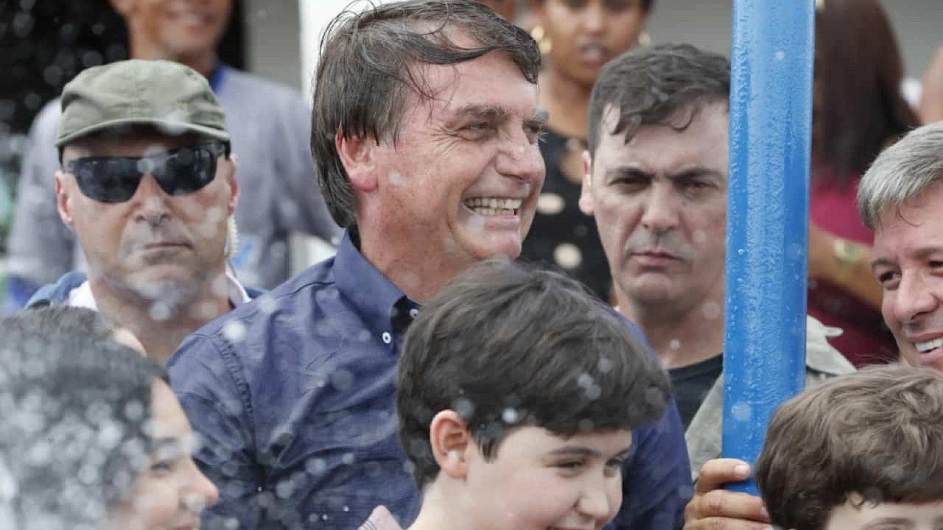Bolsonaro inaugura etapa do Canal do Sertão em Alagoas